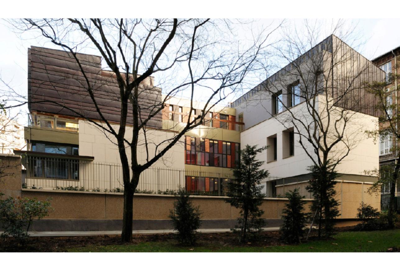 Projet equipement École Boulle 1 par Atelier JS Tabet