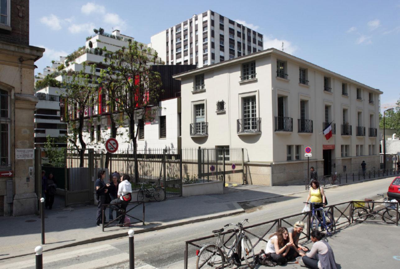 Projet equipement École Boulle 3 par Atelier JS Tabet