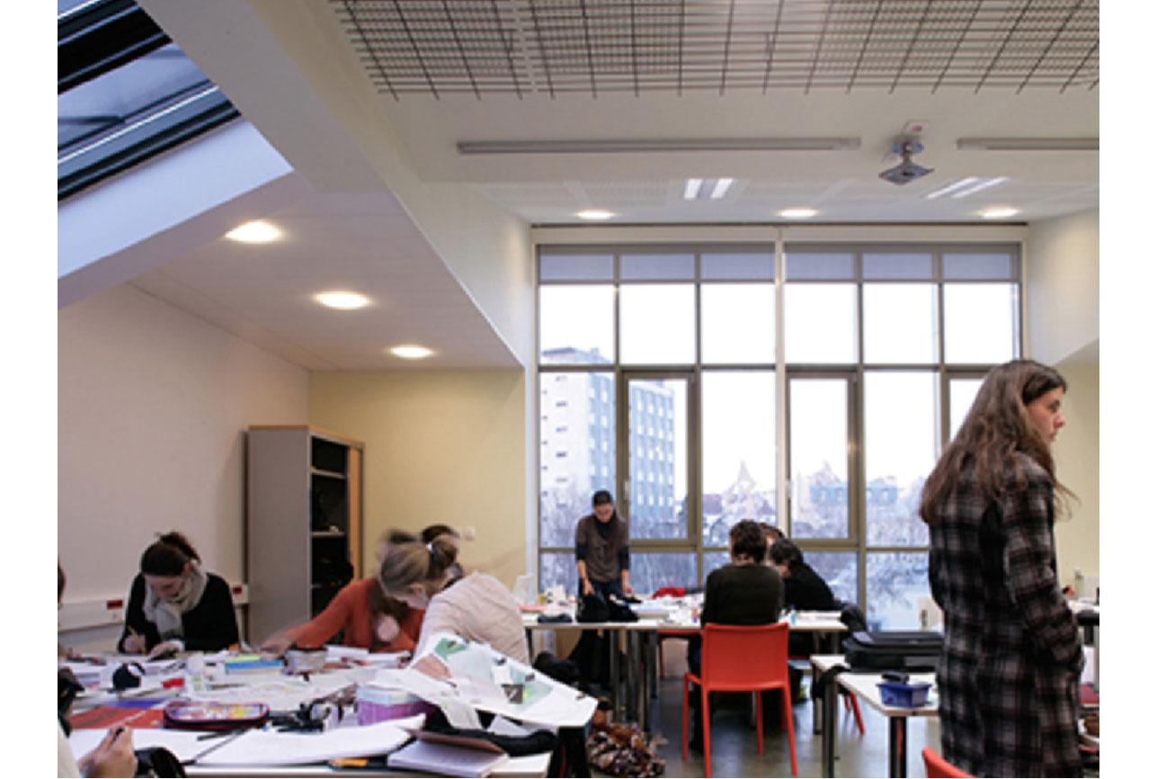 Projet equipement École Boulle 5 par Atelier JS Tabet