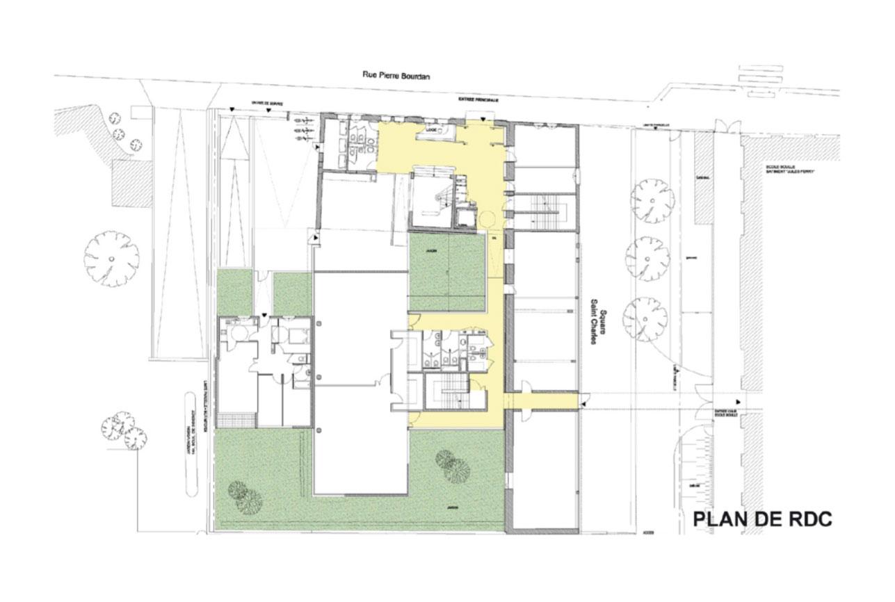 Projet equipement École Boulle 7 par Atelier JS Tabet