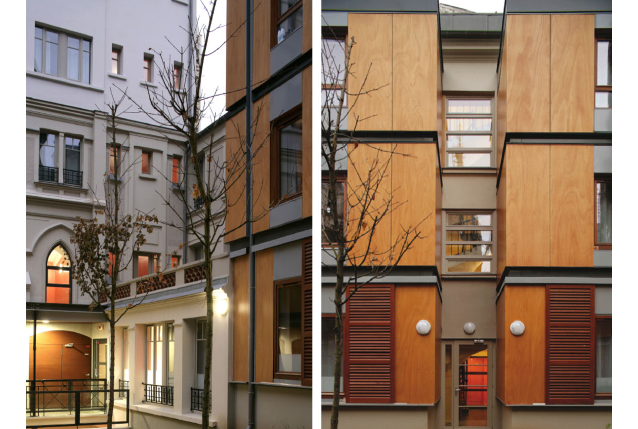 Projet foyer Beaucour 1 par Atelier JS Tabet