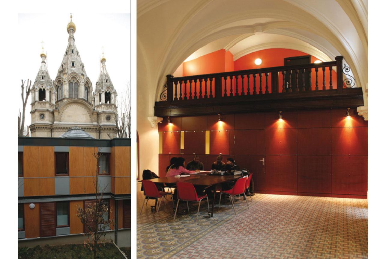 Projet foyer Beaucour 2 par Atelier JS Tabet