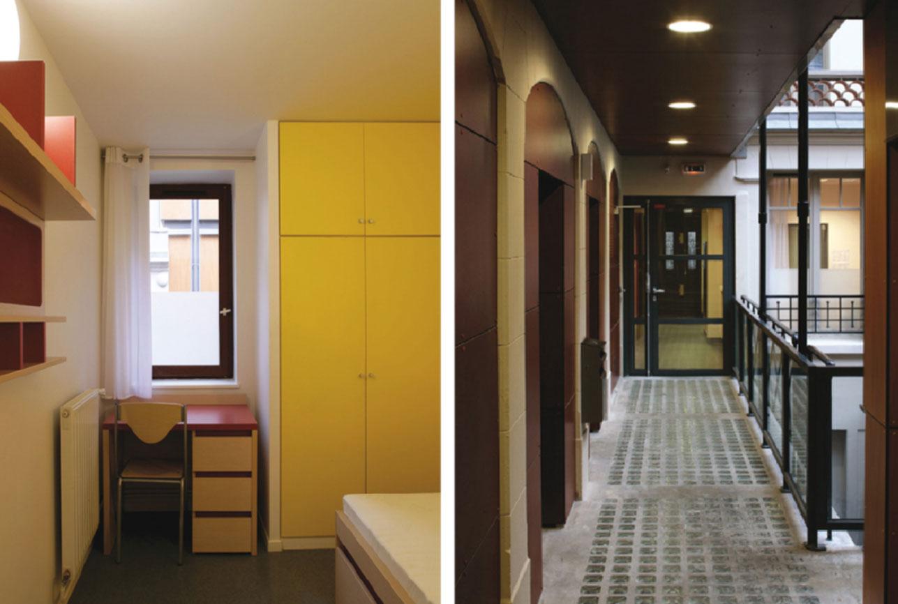 Projet foyer Beaucour 3 par Atelier JS Tabet