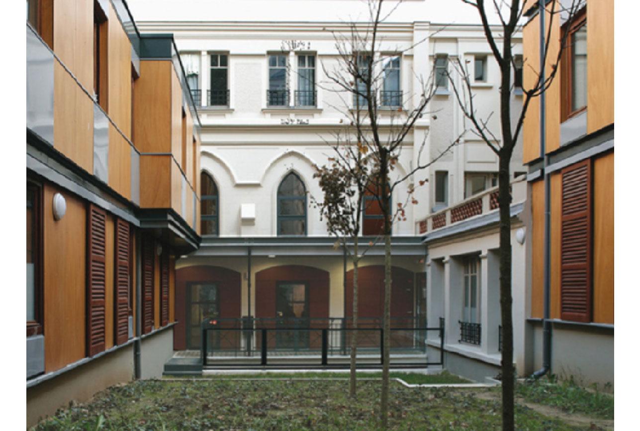 Projet foyer Beaucour 4 par Atelier JS Tabet