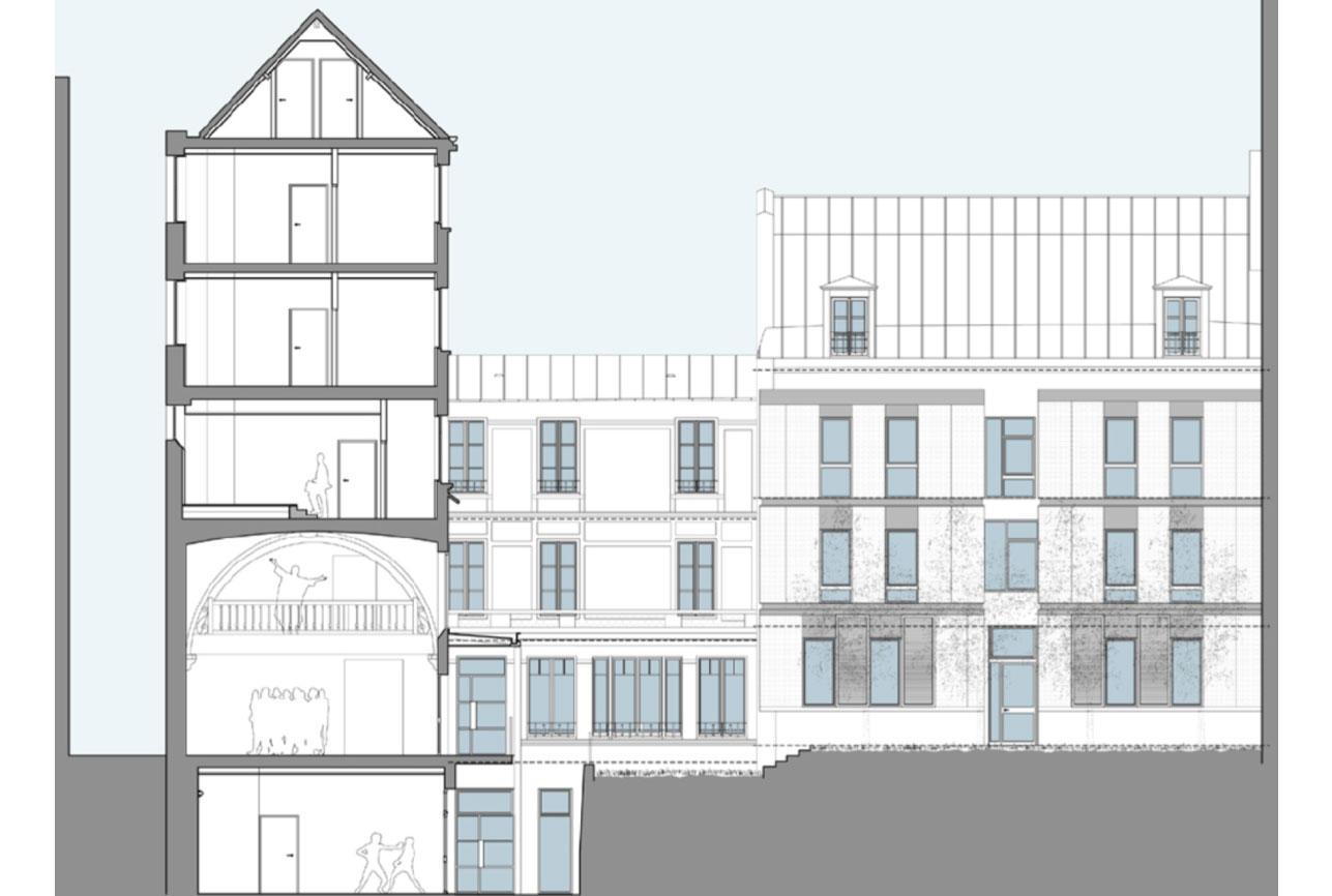 Projet foyer Beaucour 6 par Atelier JS Tabet