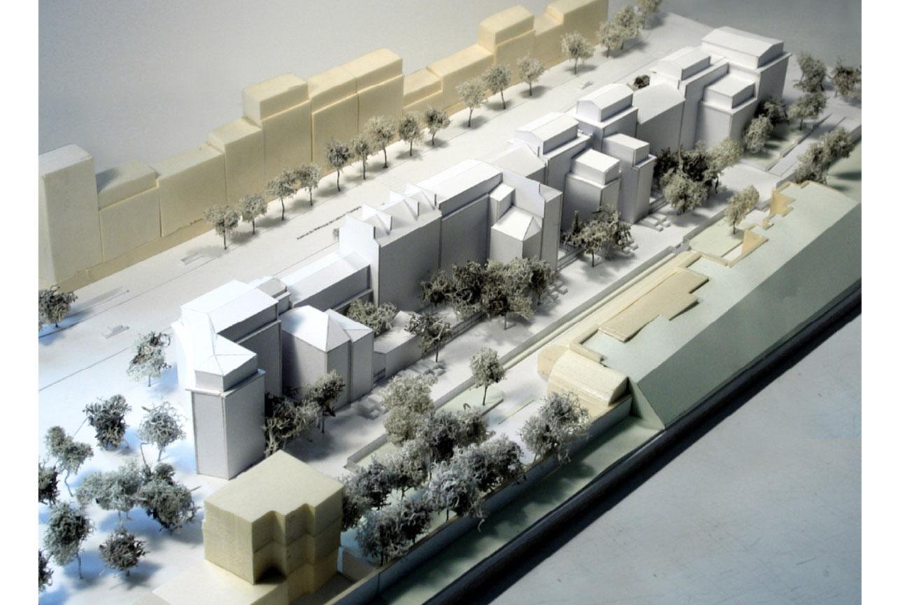 Projet urbanisme Boulogne 1 par Atelier JS Tabet