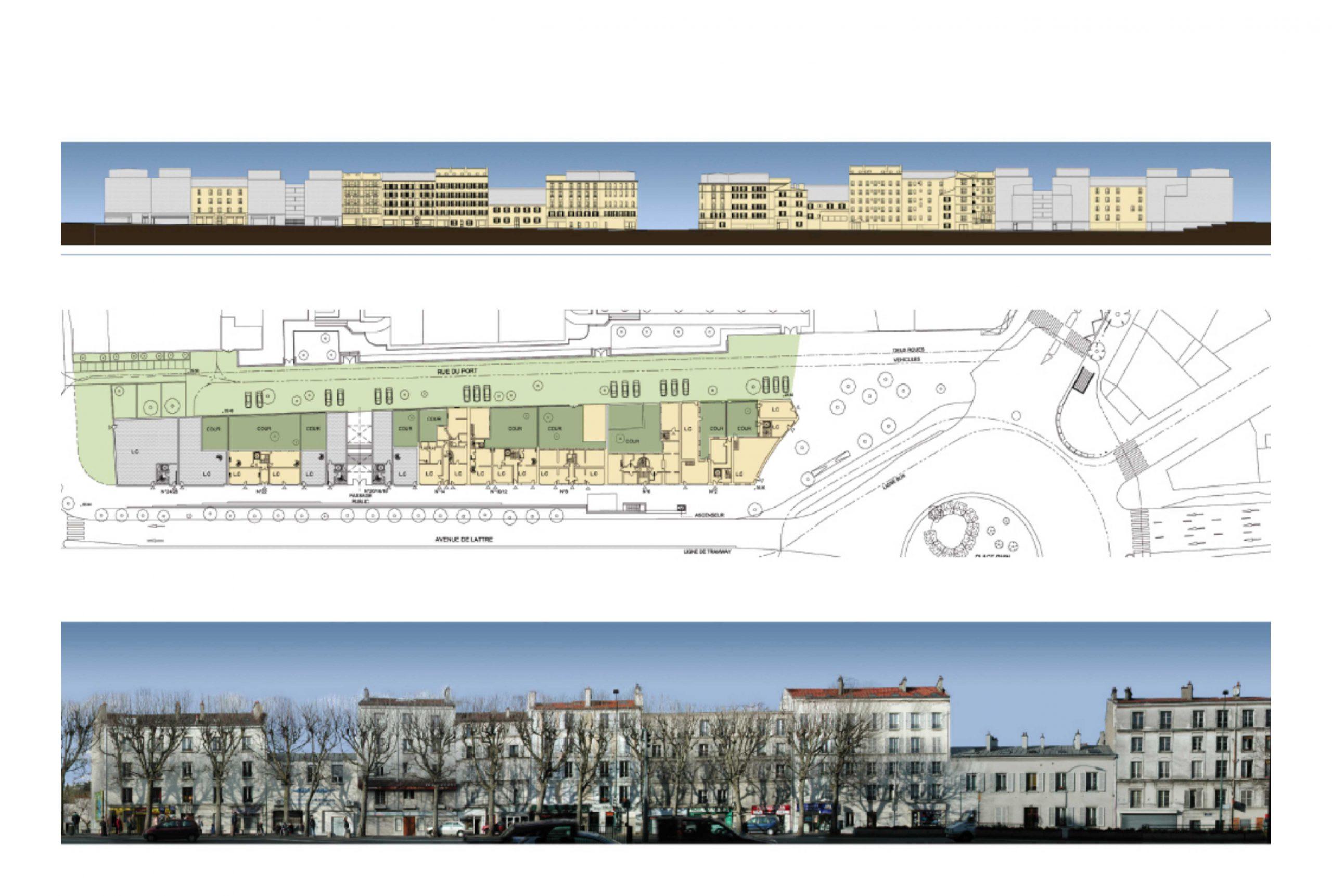 Projet urbanisme Boulogne 2 par Atelier JS Tabet