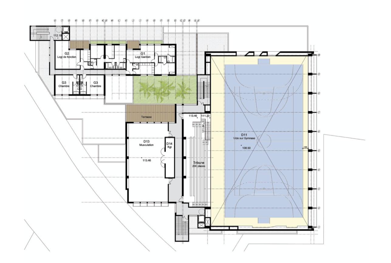 Projet equipement CPF 10 par Atelier JS Tabet