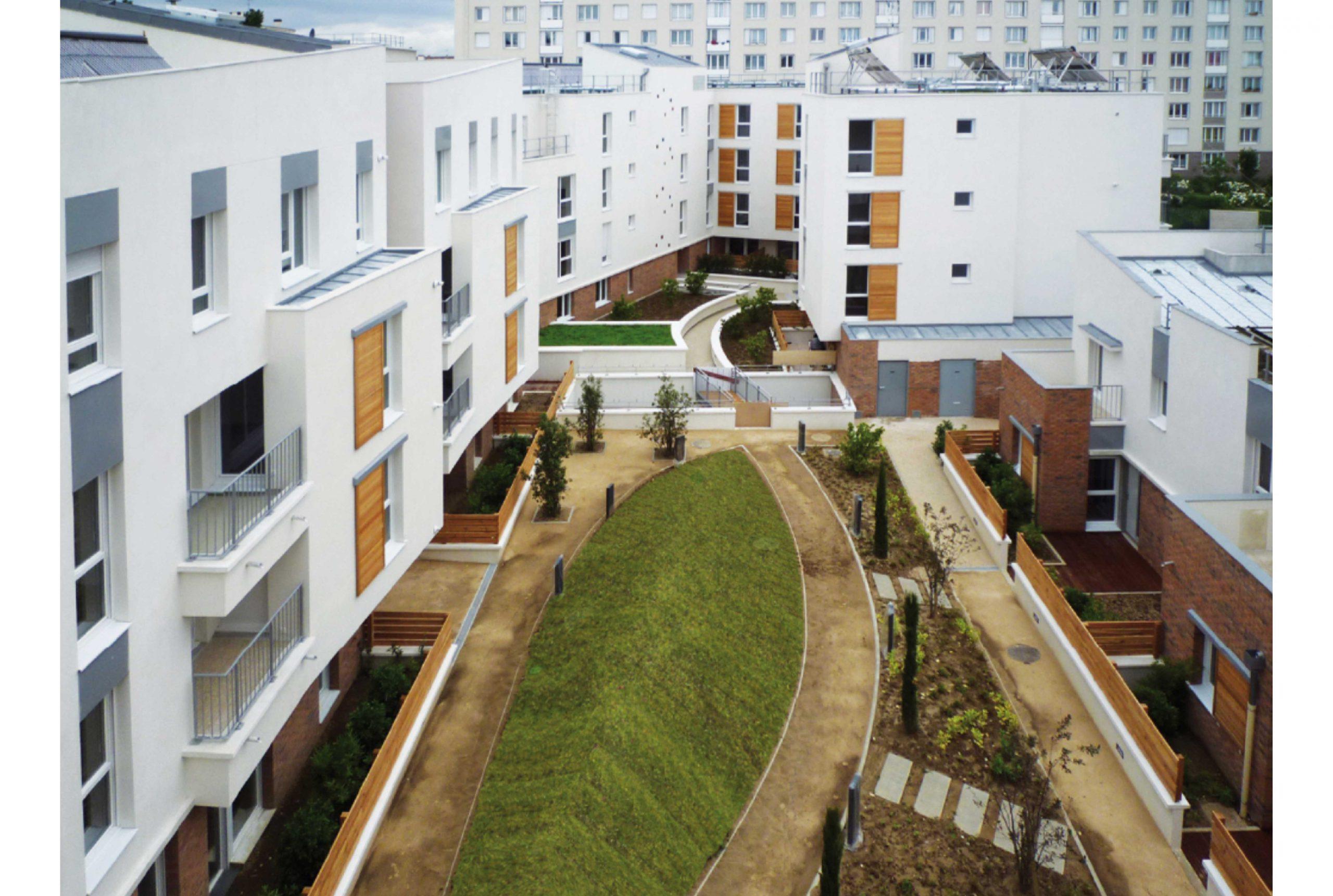 Projet logement Cachin 2 par Atelier JS Tabet