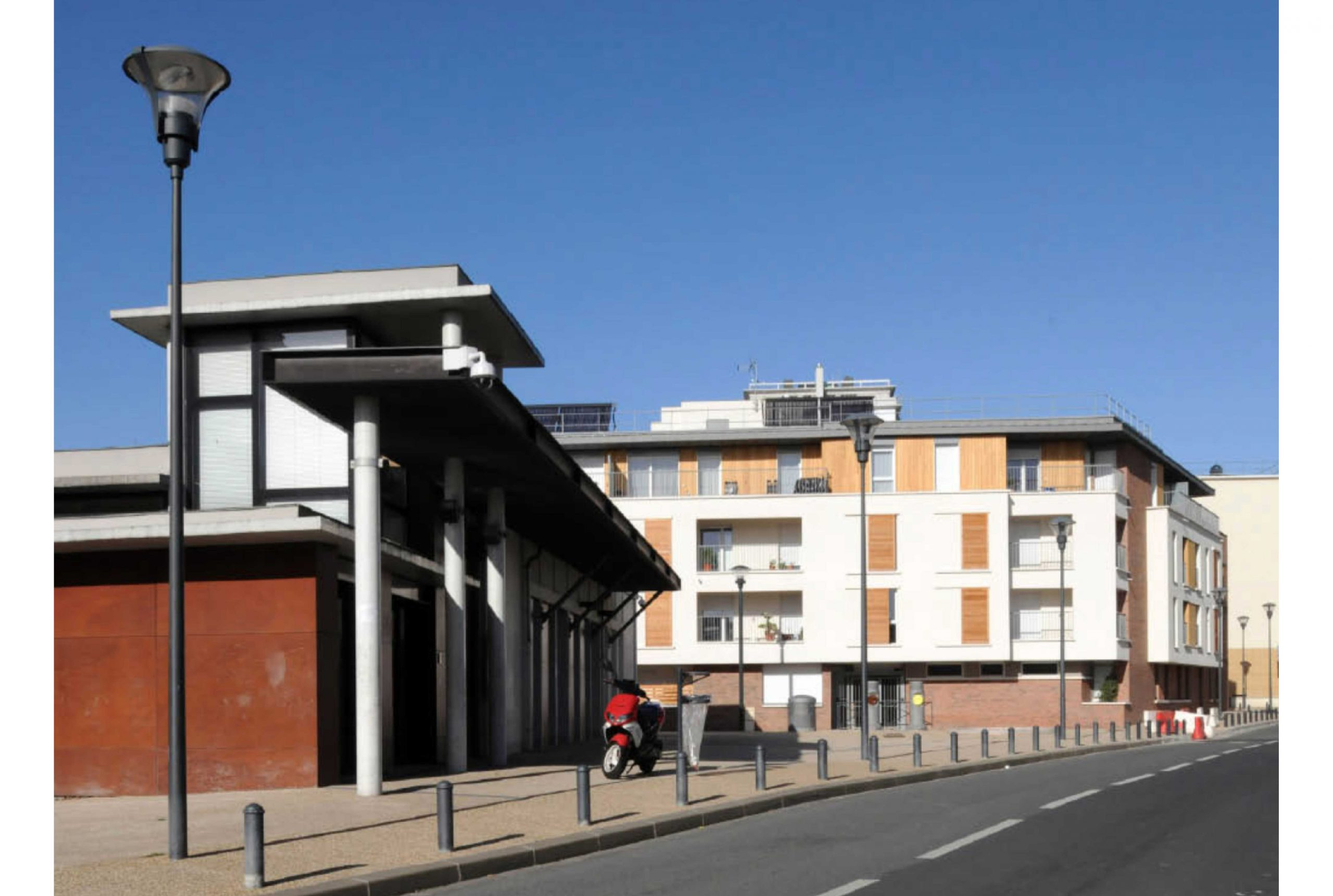 Projet logement Cachin 5 par Atelier JS Tabet