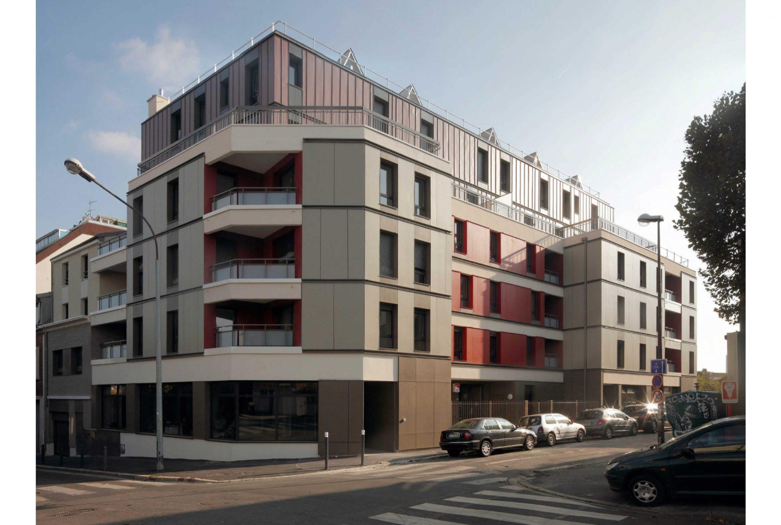 Projet logement Caillots 1 par Atelier JS Tabet