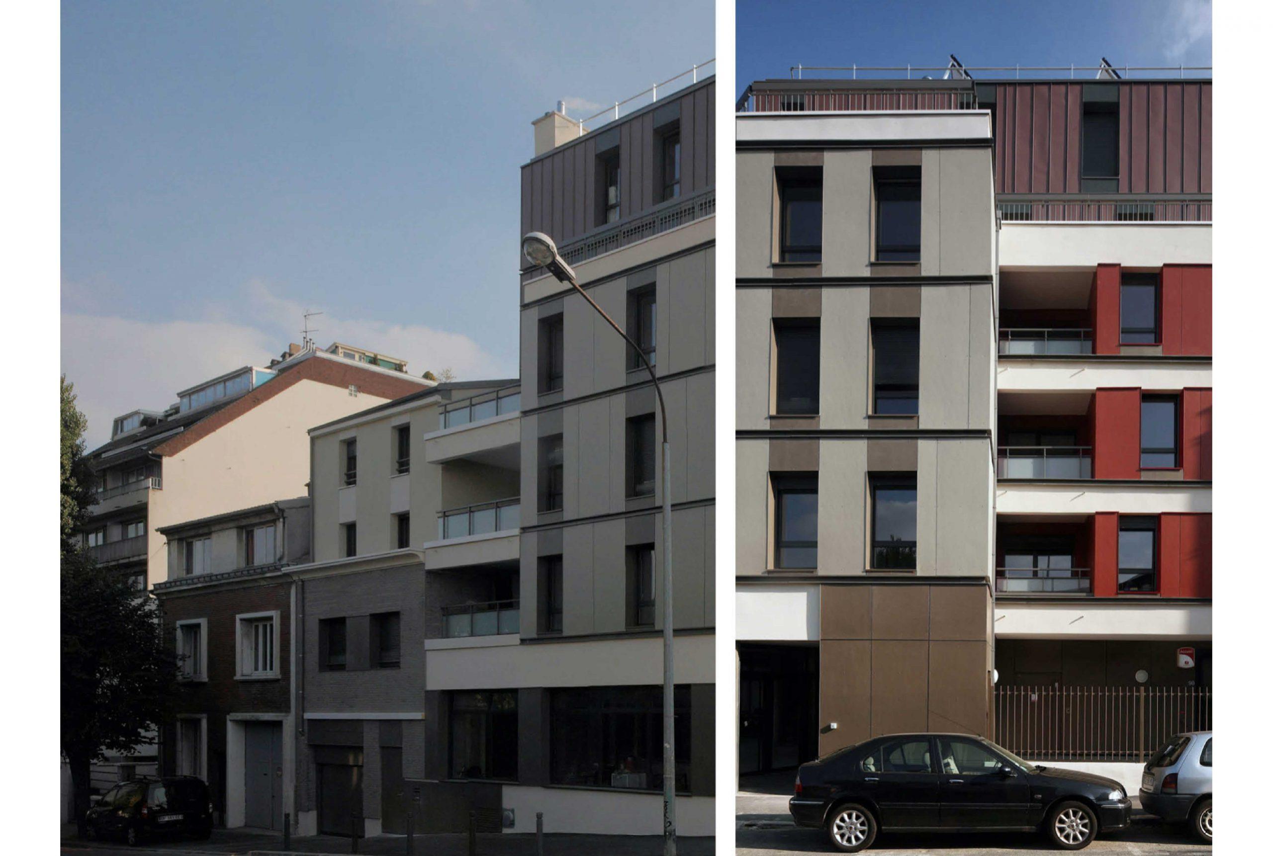 Projet logement Caillots 2 par Atelier JS Tabet