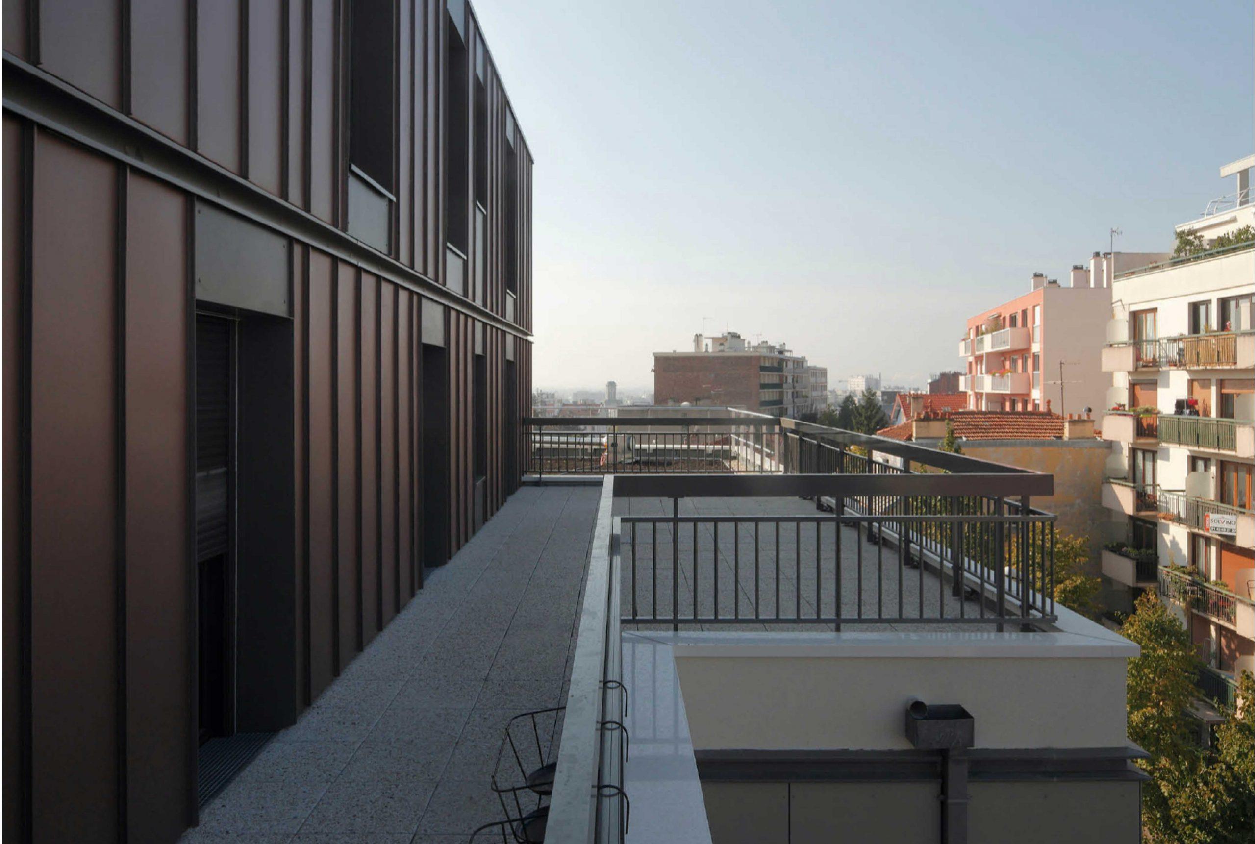 Projet logement Caillots 7 par Atelier JS Tabet