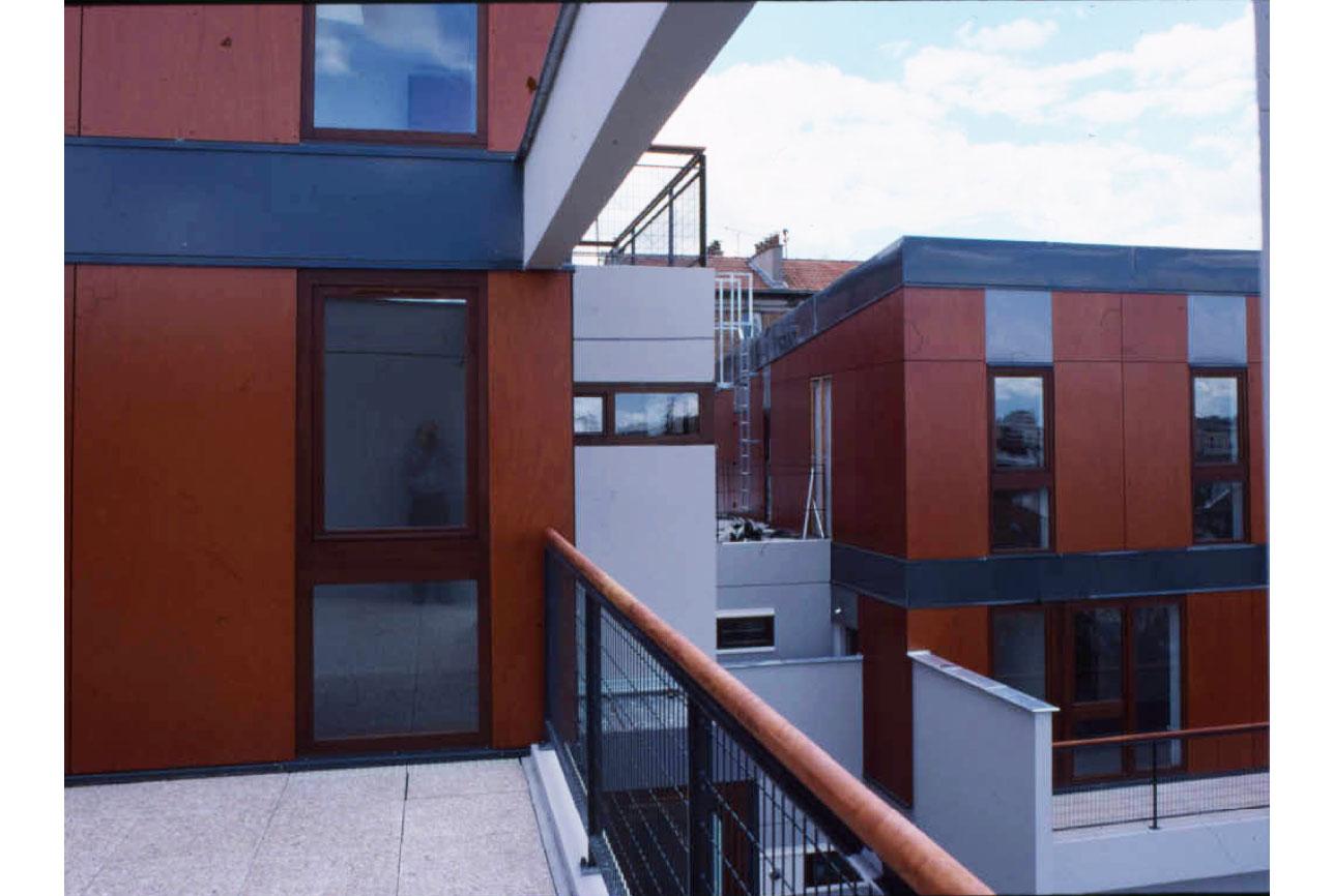 Projet logement Condorcet 1 par Atelier JS Tabet