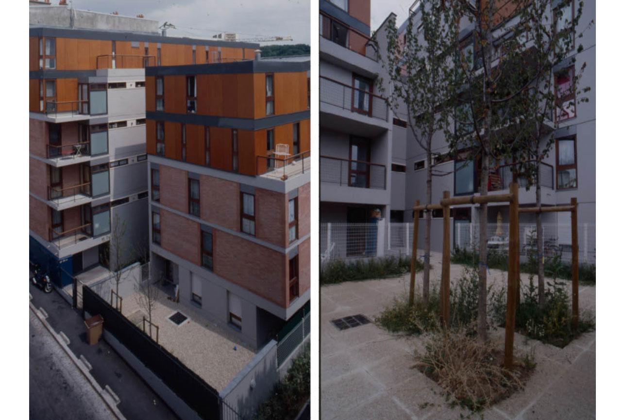 Projet logement Condorcet 2 par Atelier JS Tabet