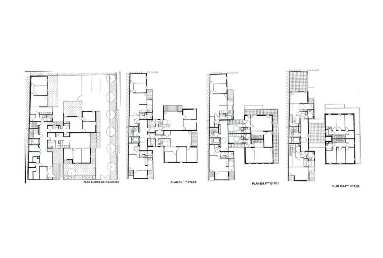 Projet logement Condorcet 3 par Atelier JS Tabet