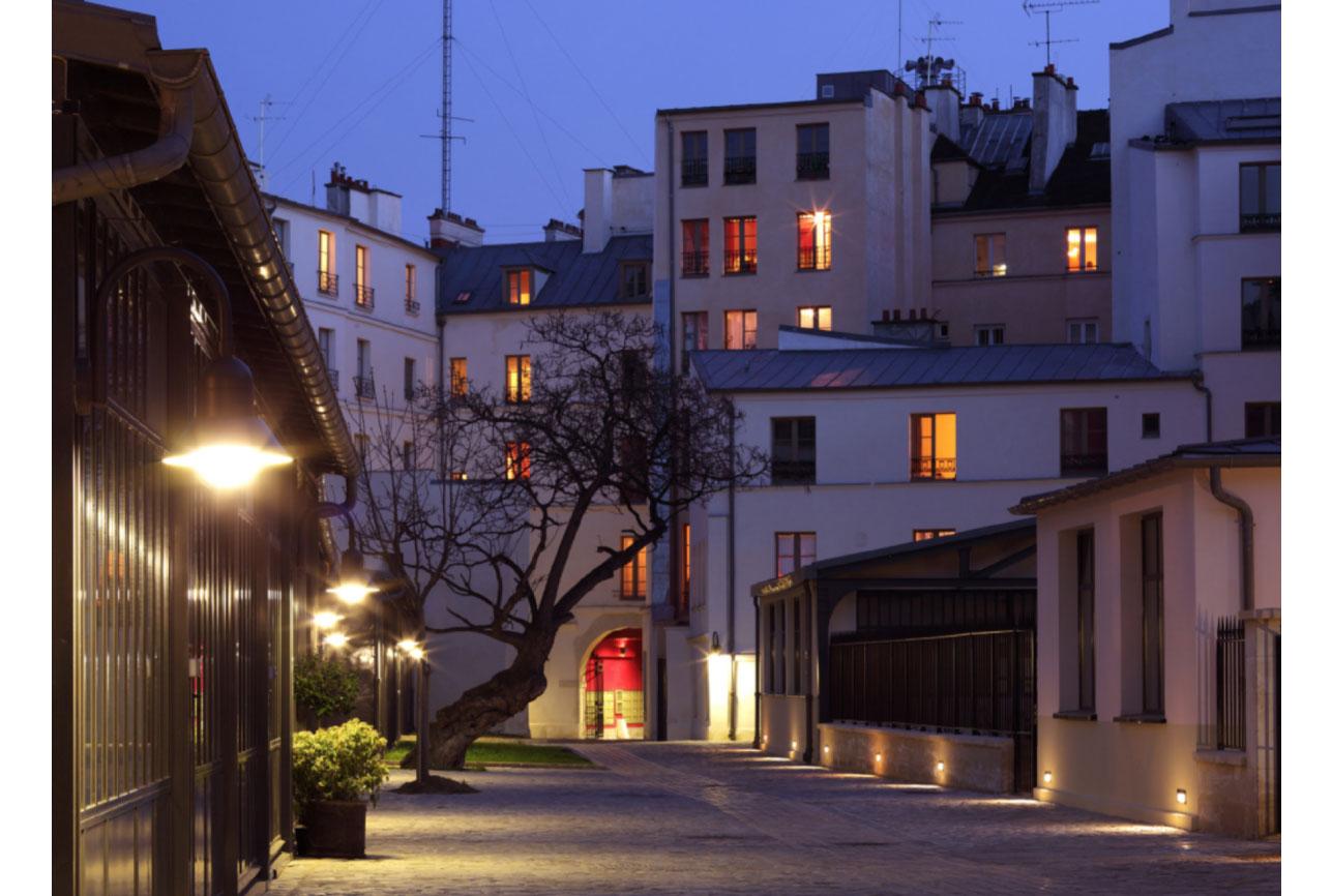 Projet rehabilitation Cour de Venise 1 par Atelier JS Tabet