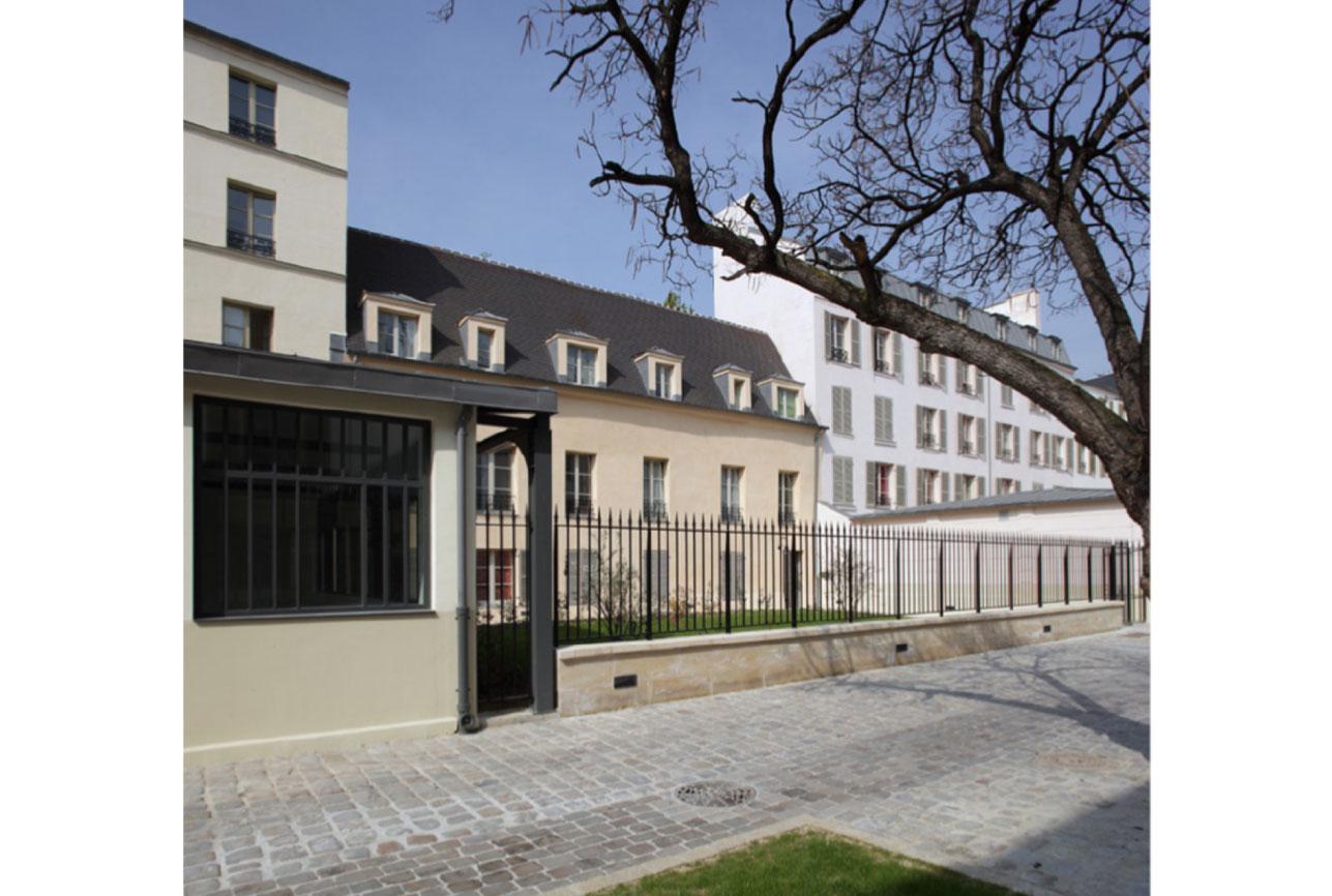 Projet rehabilitation Cour de Venise 3 par Atelier JS Tabet