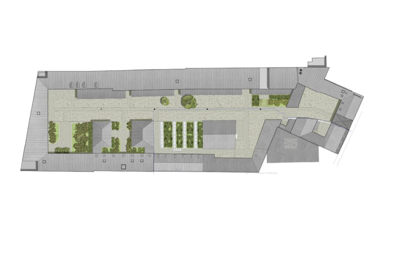 Projet rehabilitation Cour de Venise 4 par Atelier JS Tabet