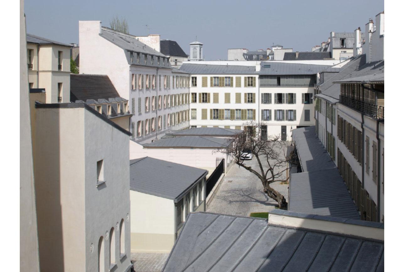 Projet rehabilitation Cour de Venise 5 par Atelier JS Tabet