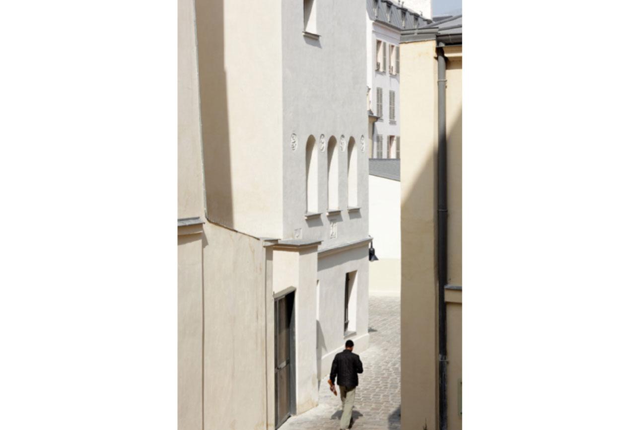 Projet rehabilitation Cour de Venise 6 par Atelier JS Tabet