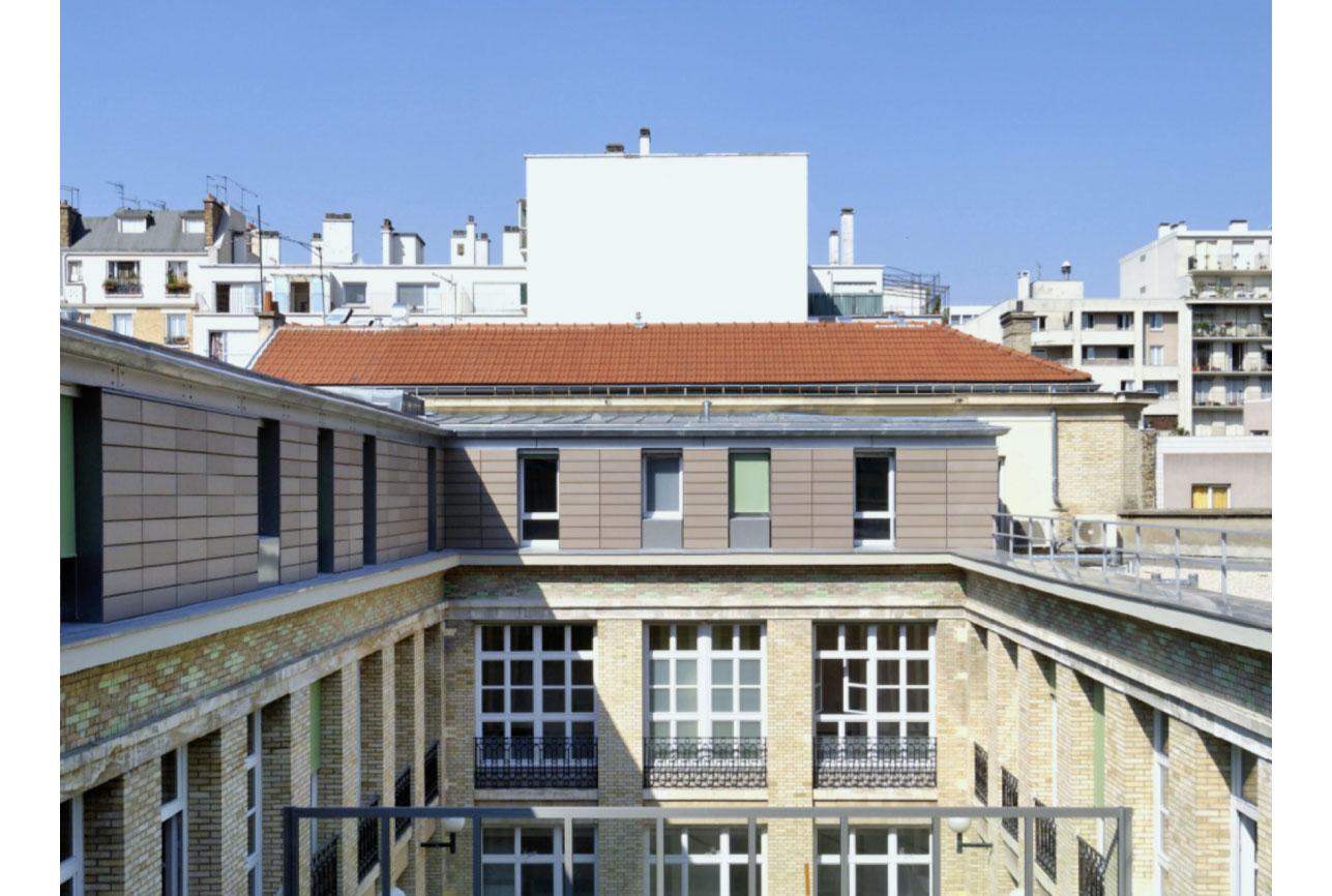 Projet foyer Crimée 3 par Atelier JS Tabet