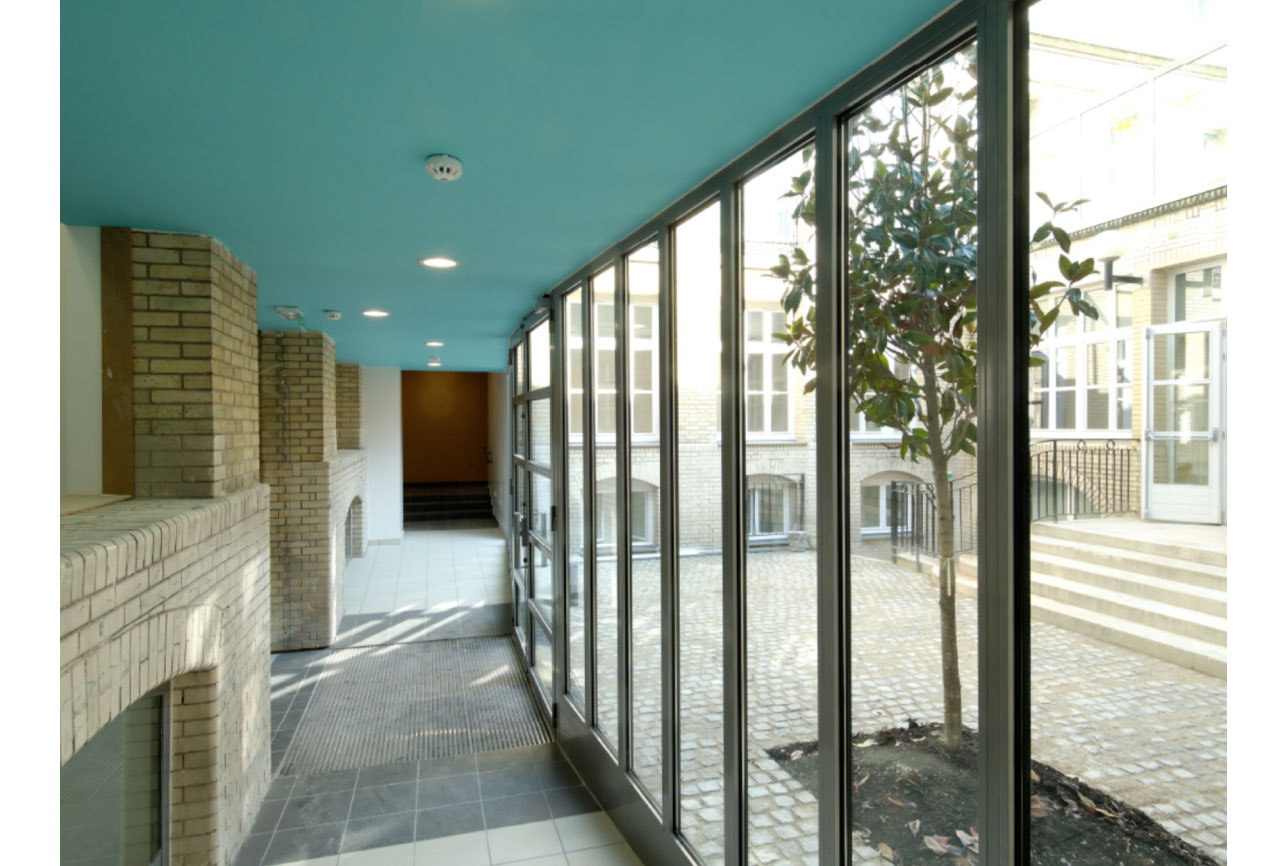 Projet foyer Crimée 4 par Atelier JS Tabet