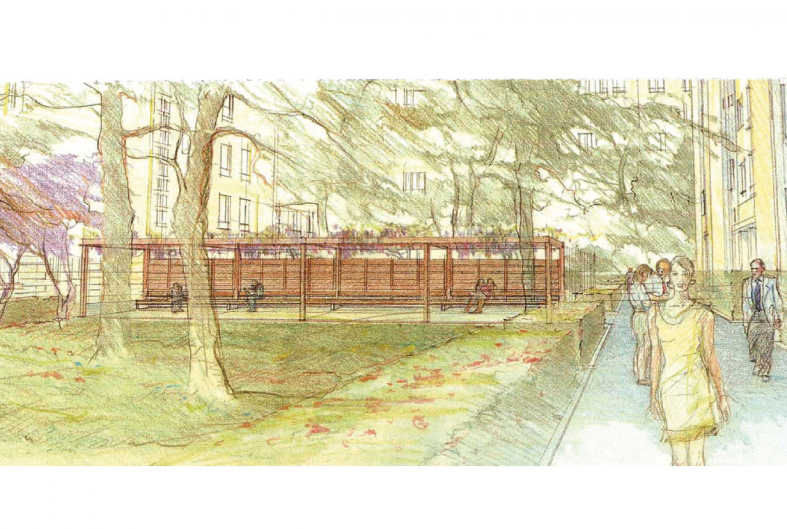 Projet urbanisme Flandre Riquet 1 par Atelier JS Tabet