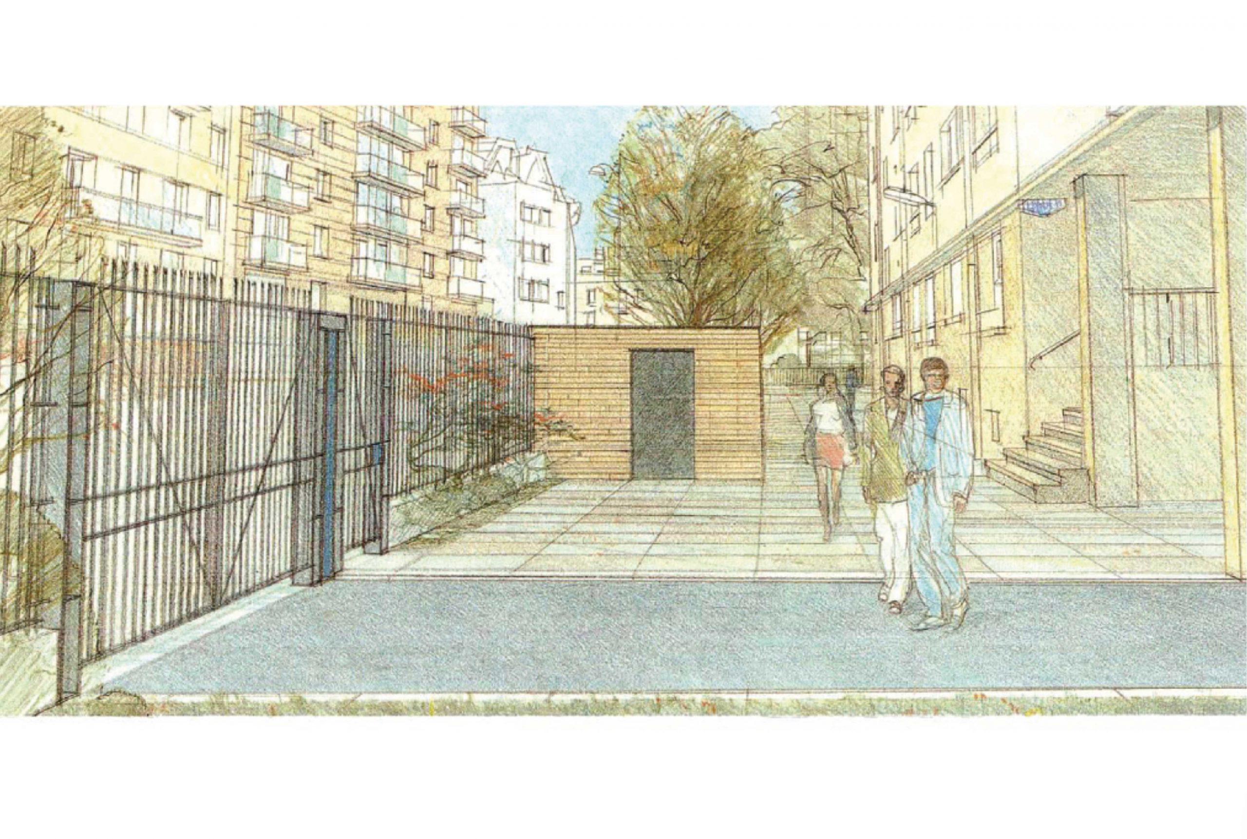 Projet urbanisme Flandre Riquet 2 par Atelier JS Tabet
