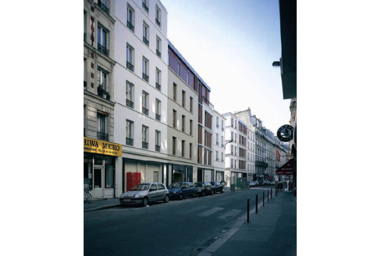 Projet logement Hennel 3 par Atelier JS Tabet