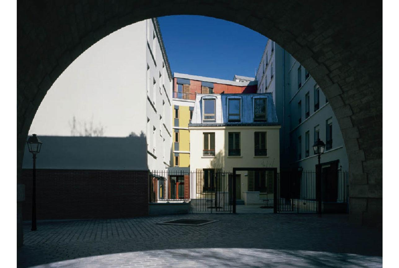 Projet logement Hennel 4 par Atelier JS Tabet