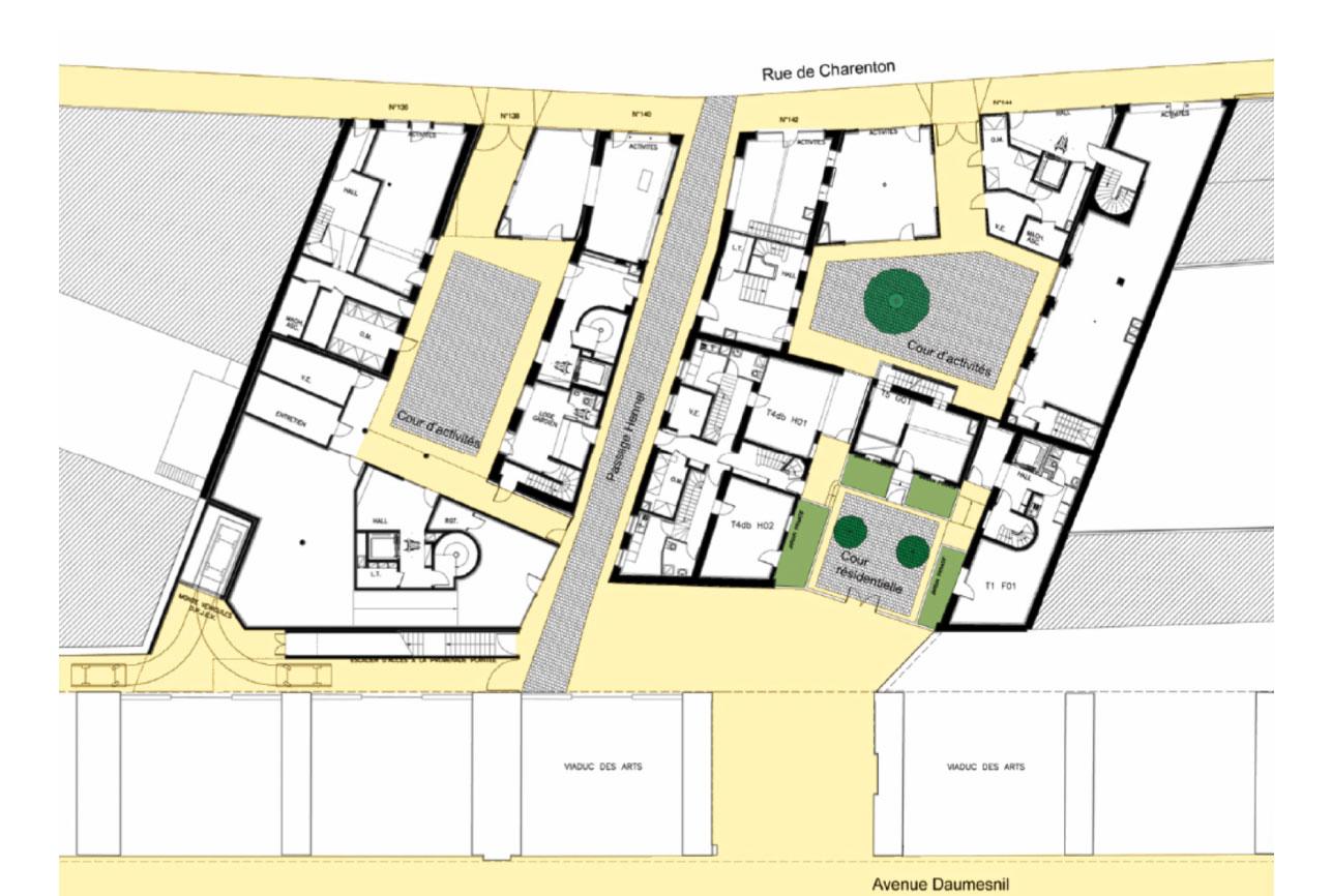 Projet logement Hennel 5 par Atelier JS Tabet
