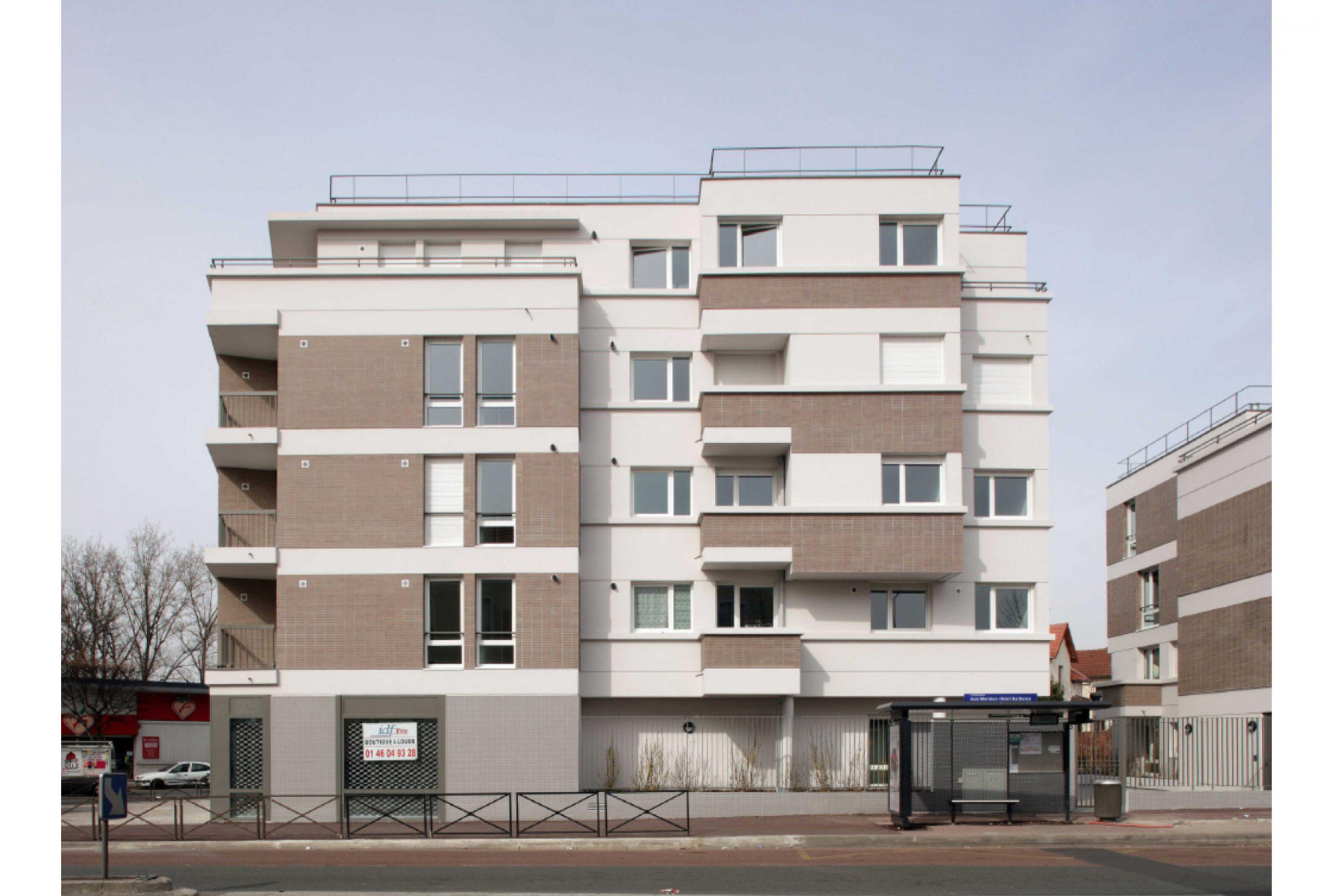 Projet logement La Courneuve 3 par Atelier JS Tabet