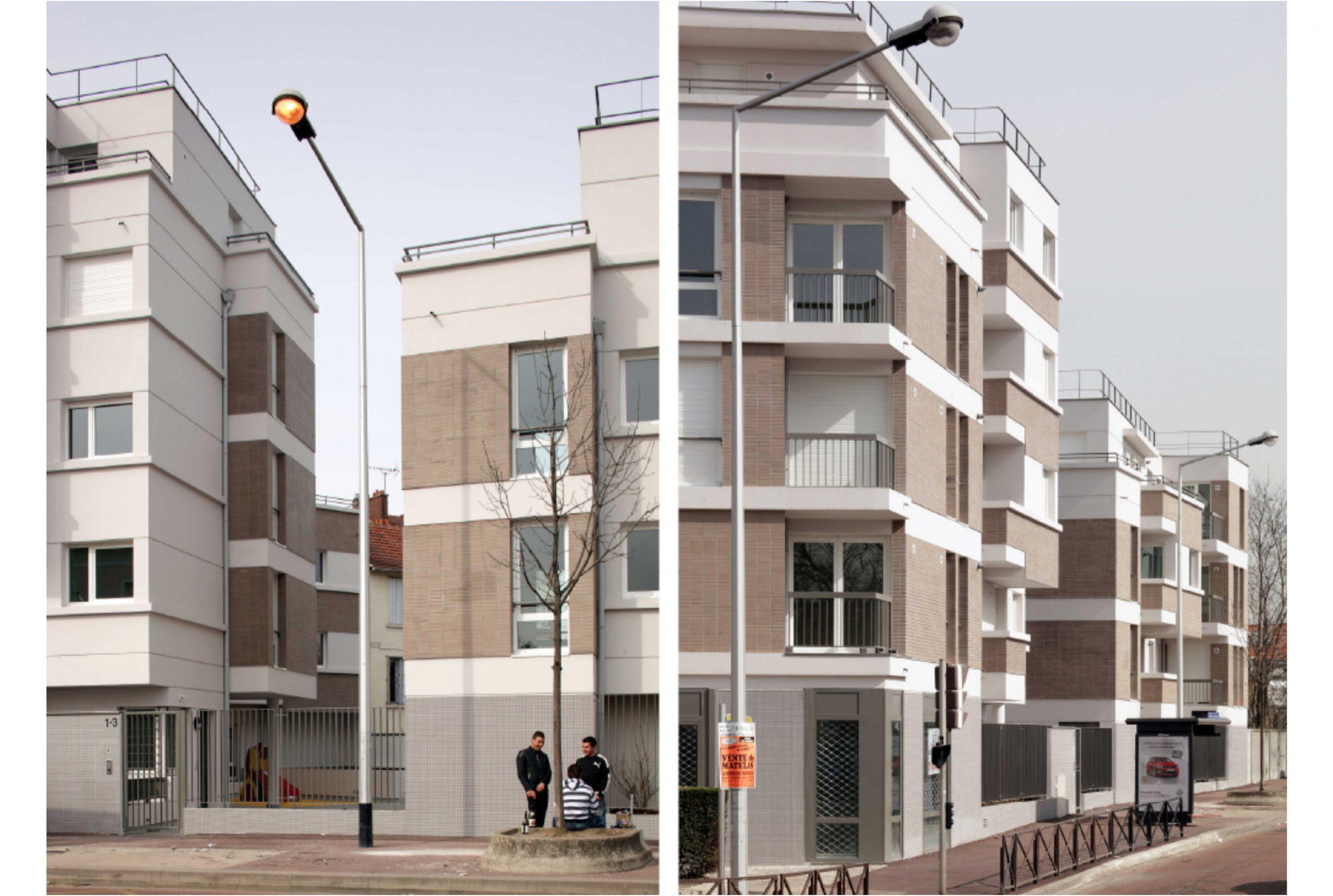 Projet logement La Courneuve 4 par Atelier JS Tabet