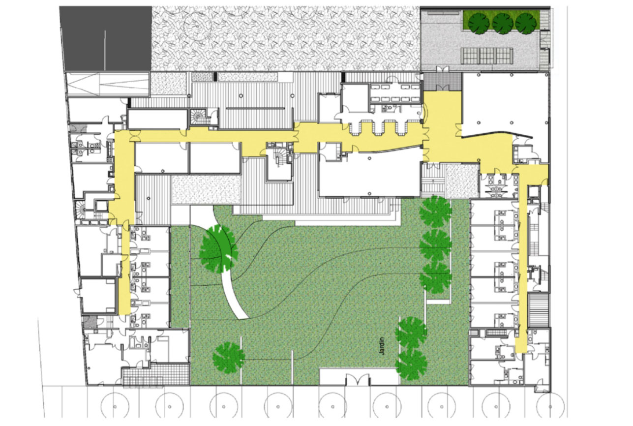 Projet foyer Lila 10 par Atelier JS Tabet