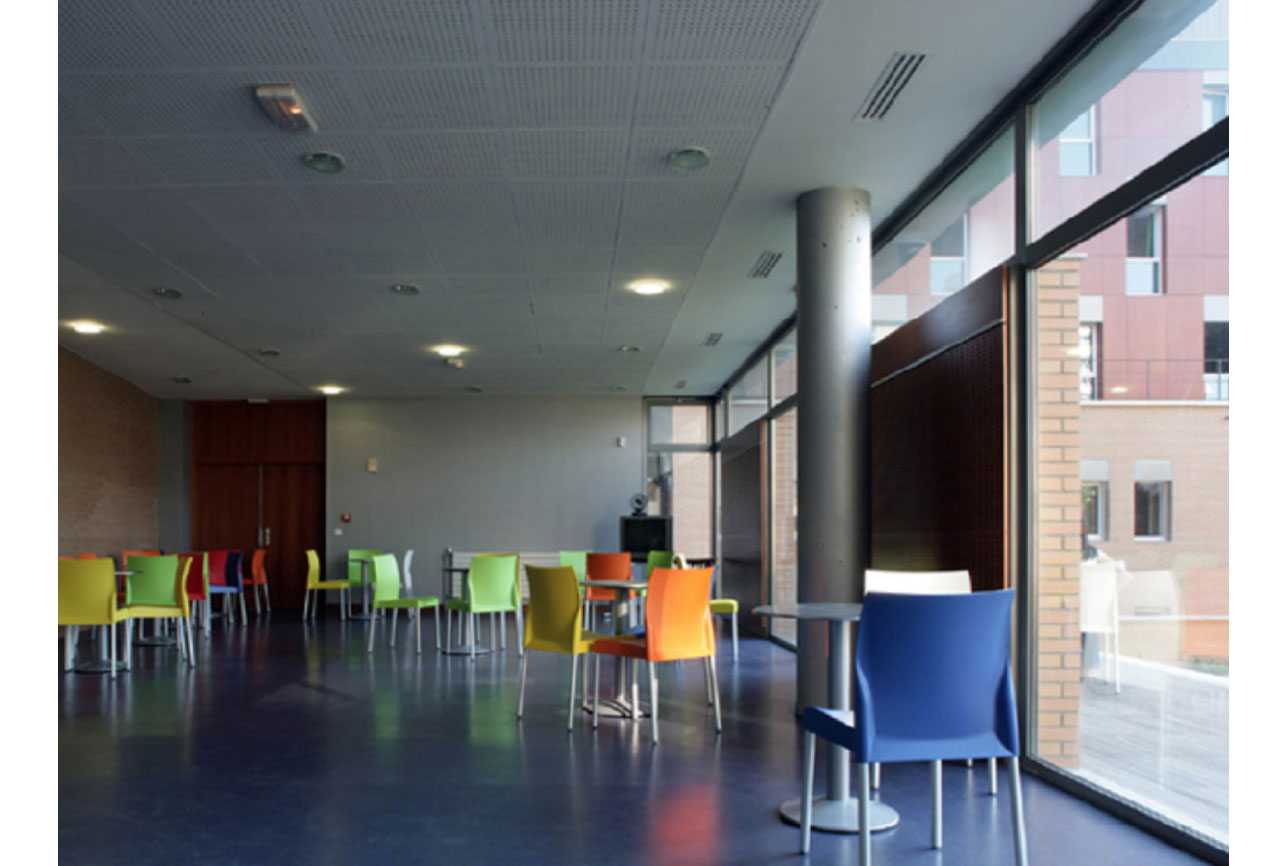 Projet foyer Lila 7 par Atelier JS Tabet