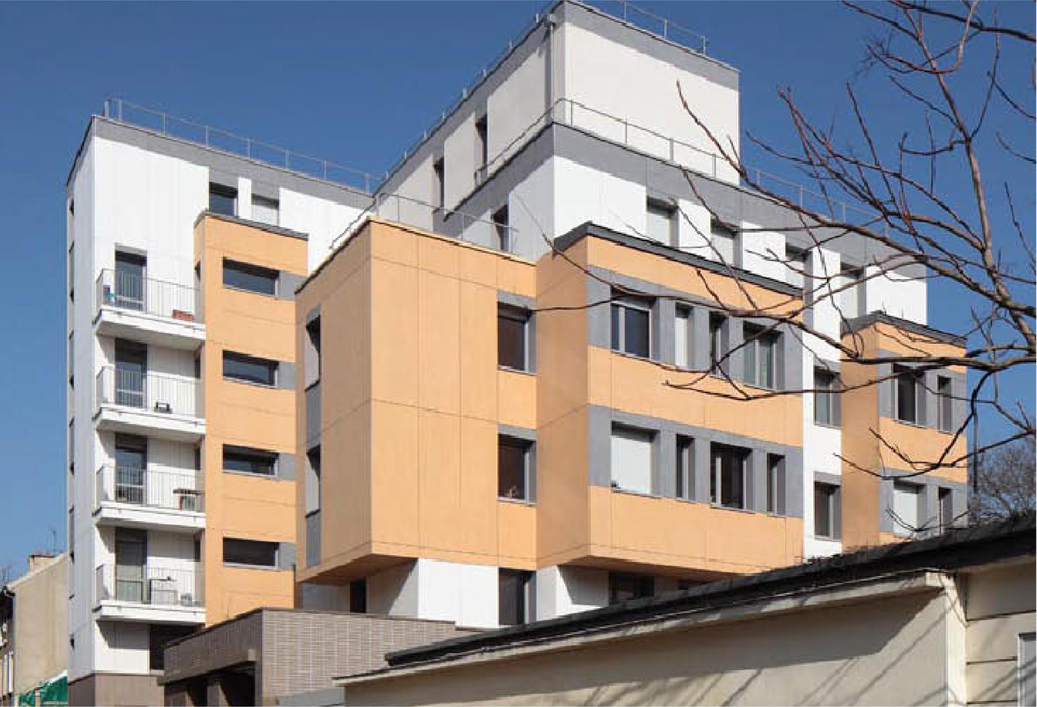 Projet foyer Montreuil Maison des Babayagas par Atelier JS Tabet