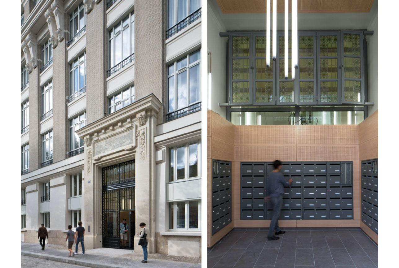 Projet foyer Montparnasse 2 par Atelier JS Tabet