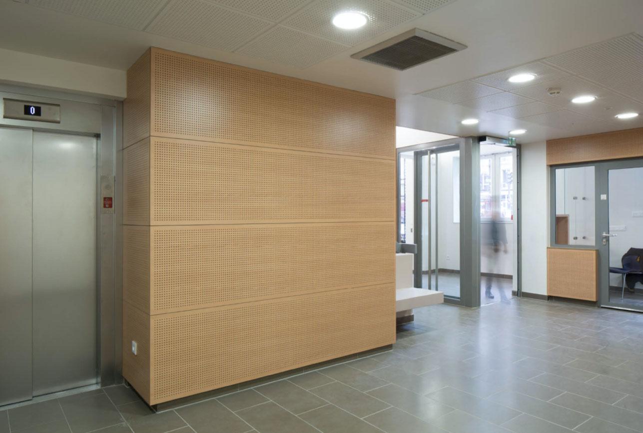 Projet foyer Montparnasse 3 par Atelier JS Tabet