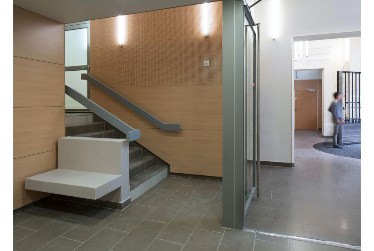 Projet foyer Montparnasse 4 par Atelier JS Tabet