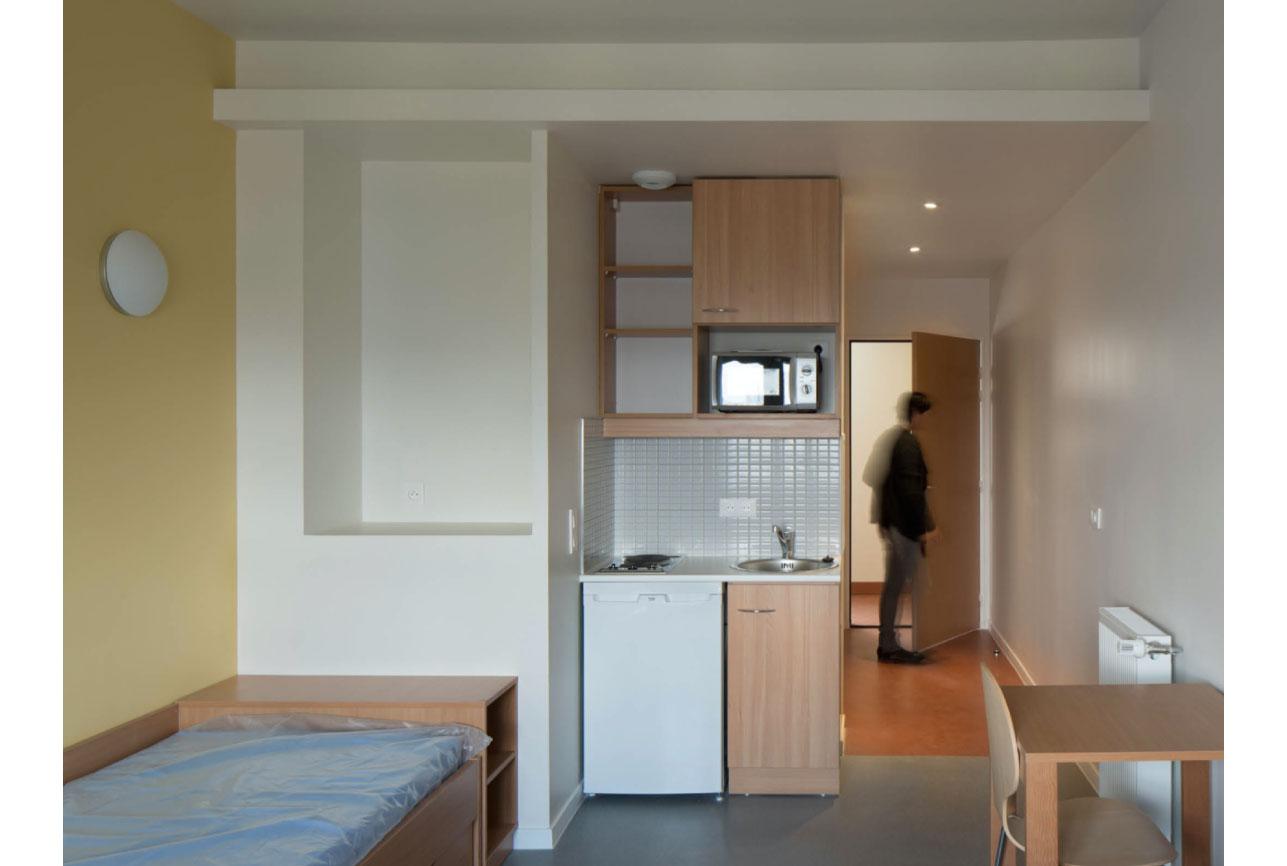 Projet foyer Montparnasse 6 par Atelier JS Tabet