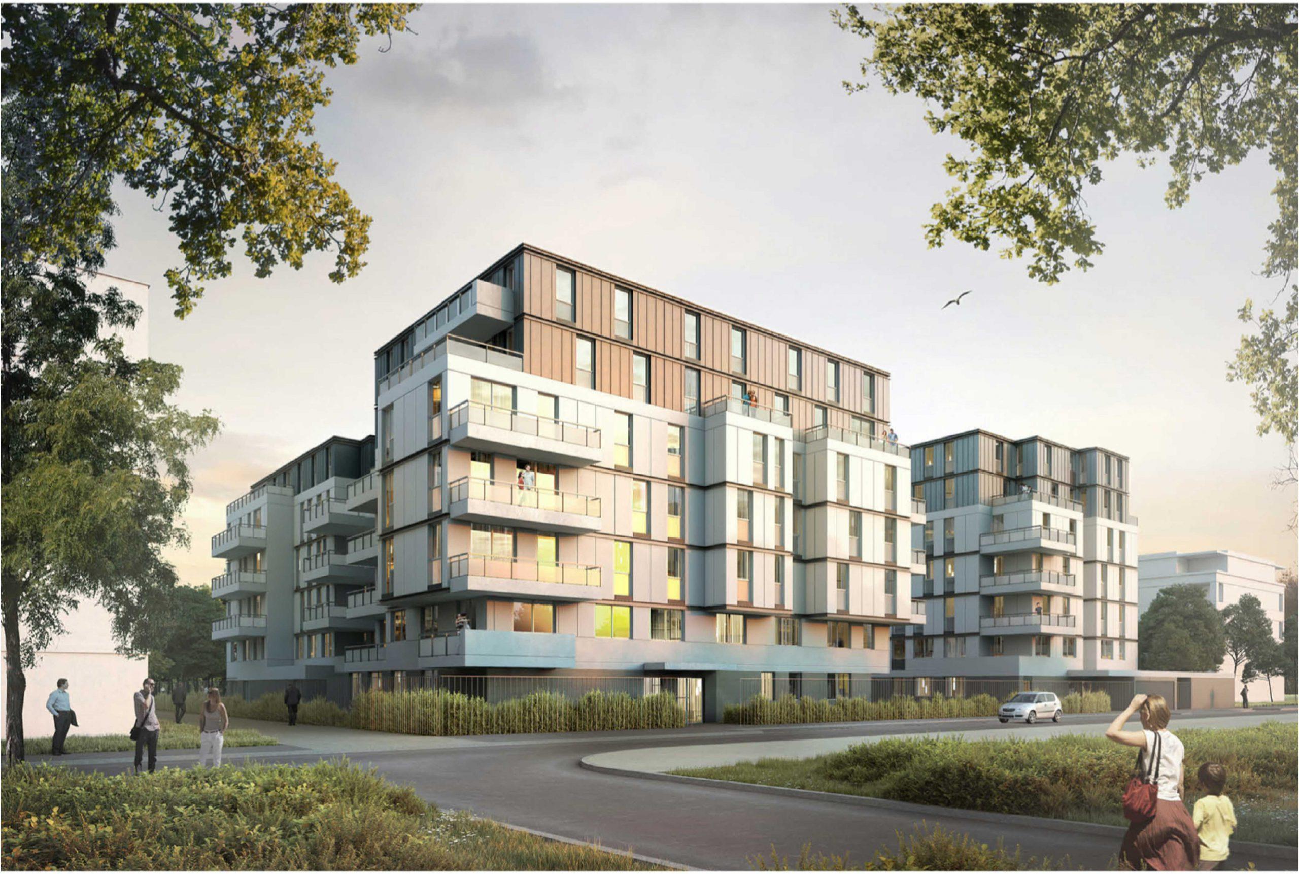 Projet logement Orly Calmette 1 par Atelier JS Tabet