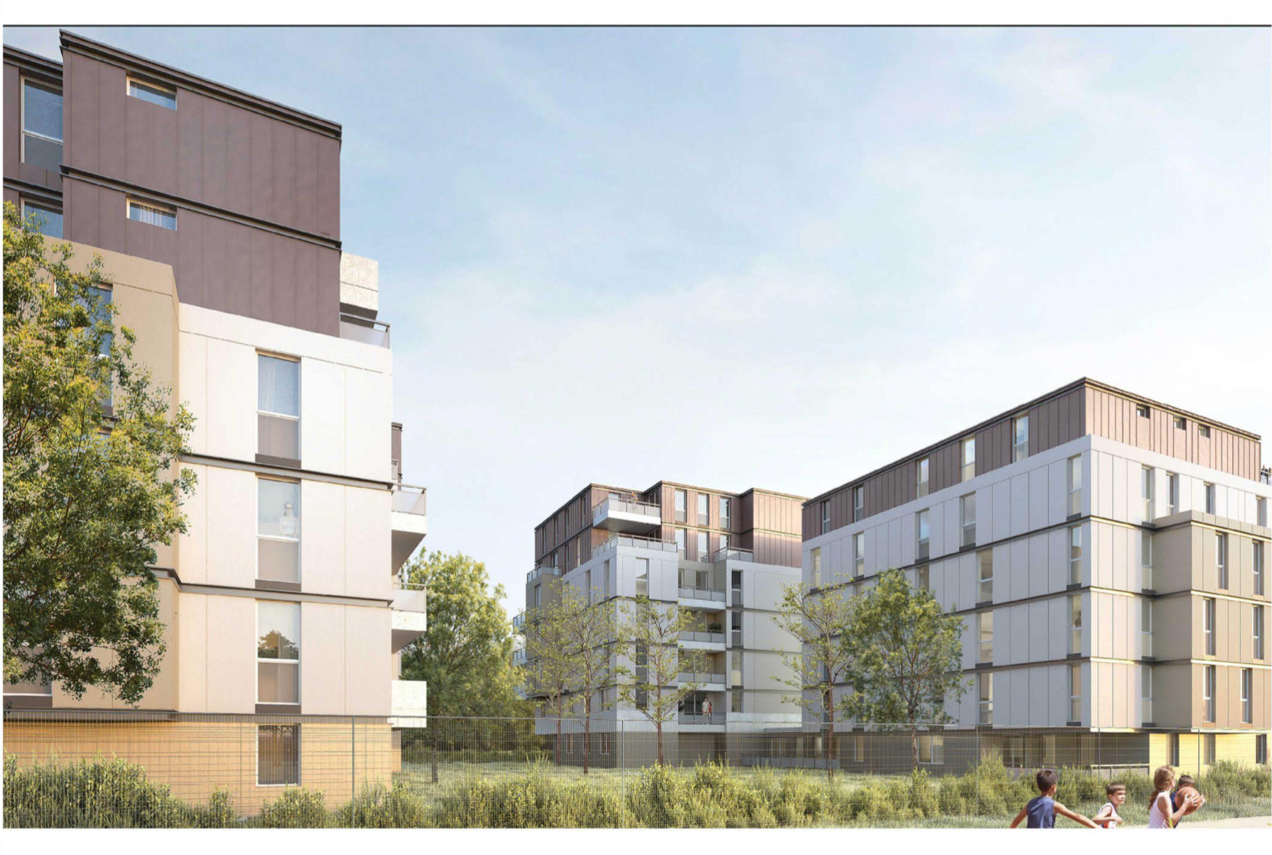 Projet logement Orly Calmette 2 par Atelier JS Tabet