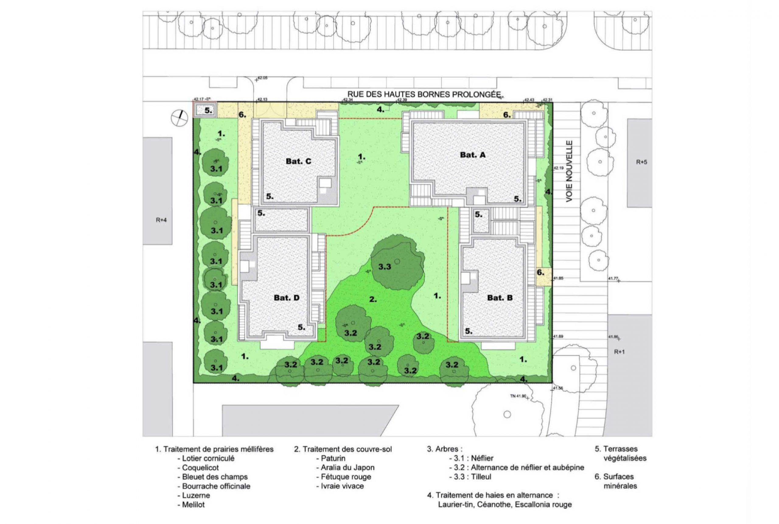 Projet logement Orly Calmette 3 par Atelier JS Tabet