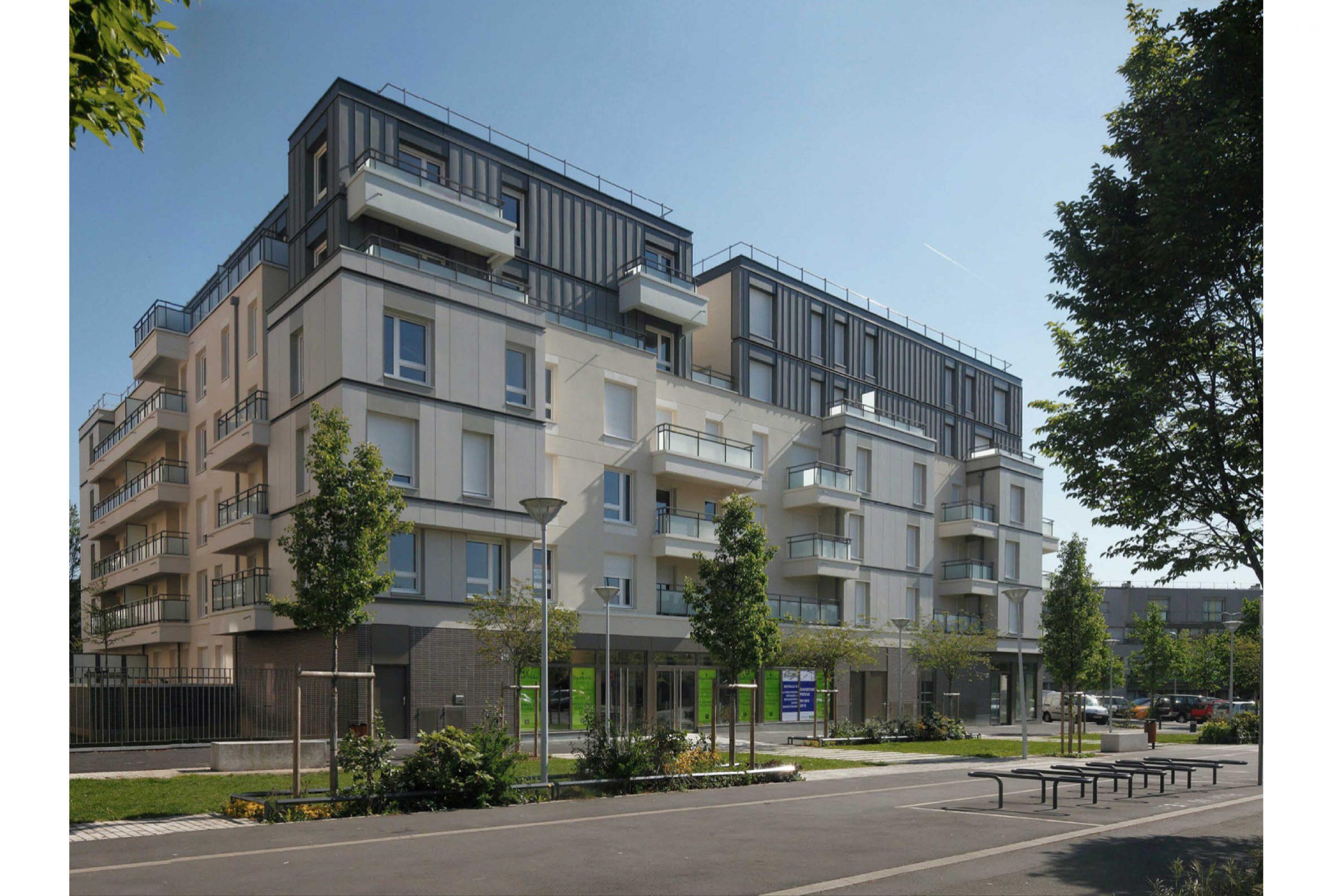 Projet logement Petit Nanterre 2 par Atelier JS Tabet