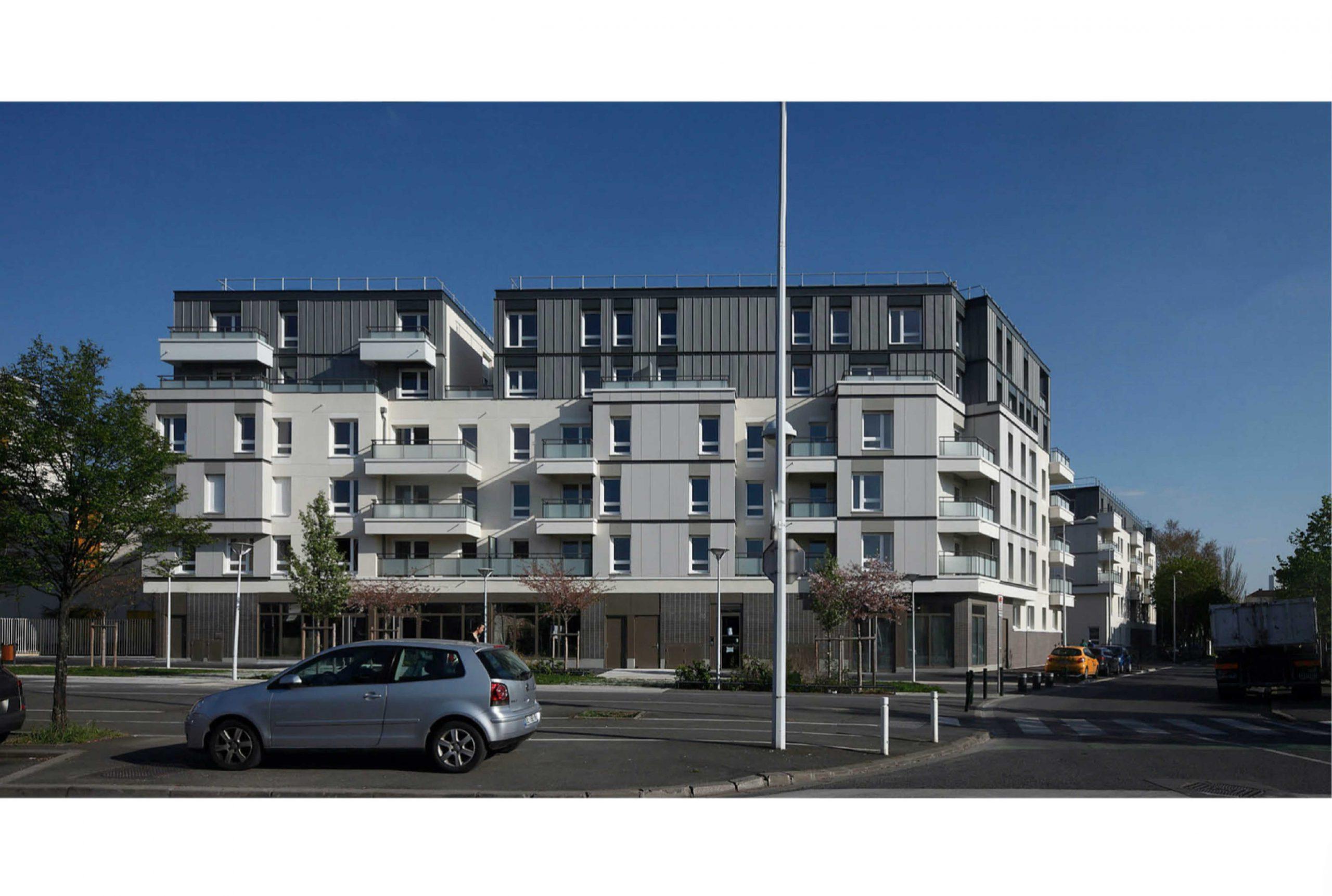 Projet logement Petit Nanterre 3 par Atelier JS Tabet