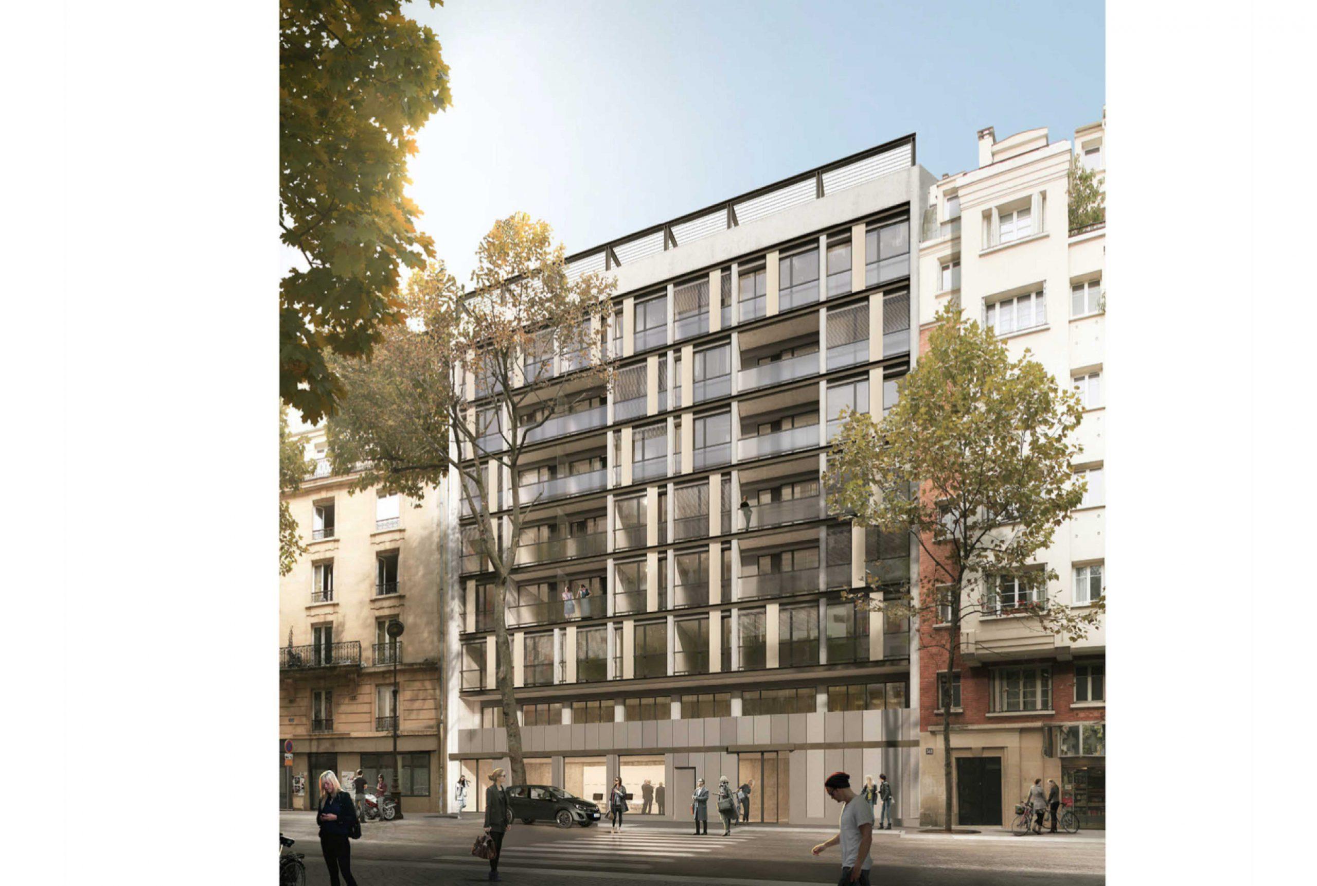 Projet logement Pyrénées Cascades 1 par Atelier JS Tabet