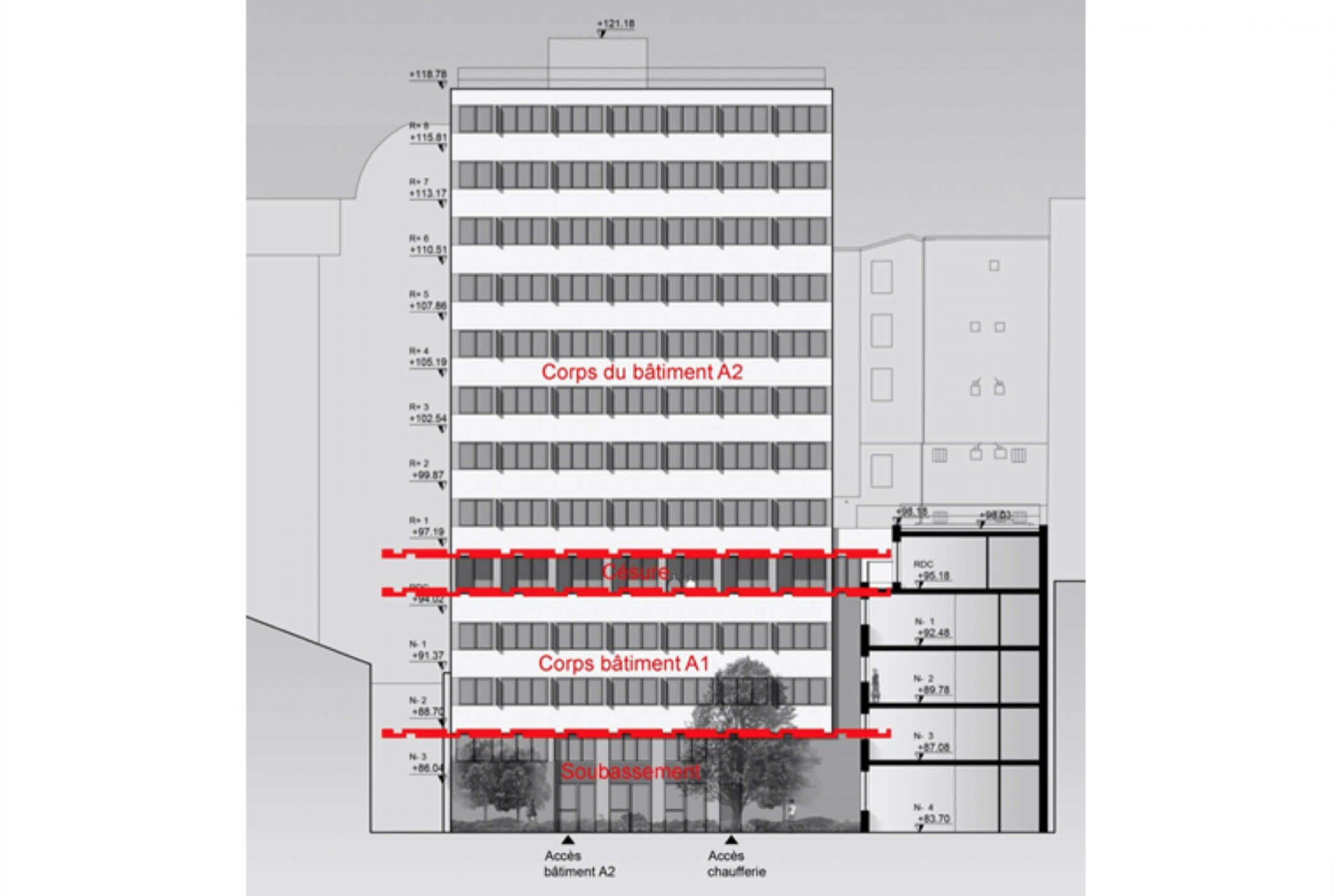 Projet logement Pyrénées Cascades 3 par Atelier JS Tabet