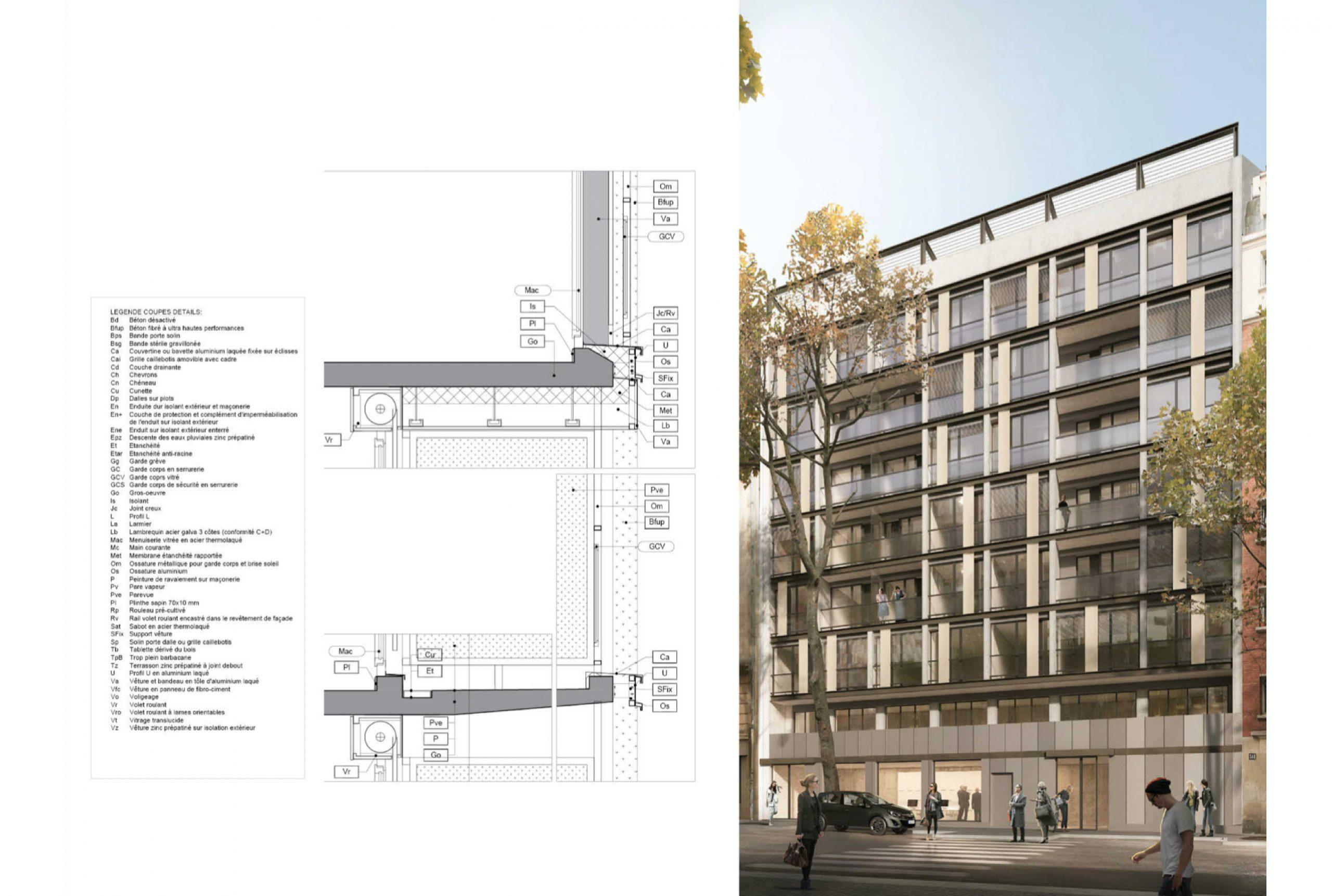 Projet logement Pyrénées Cascades 5 par Atelier JS Tabet