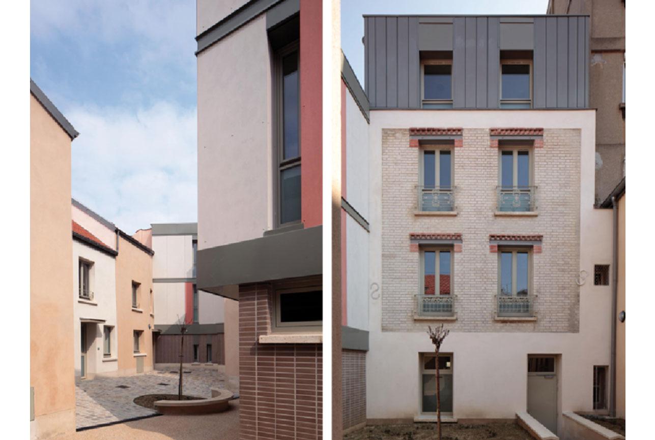 Projet rehabilitation Rouget de l_Isle 5 par Atelier JS Tabet
